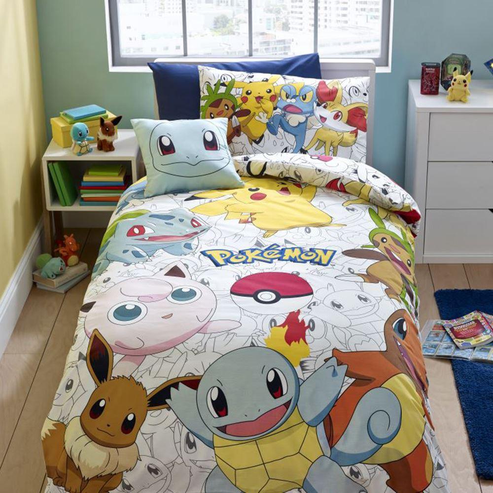 Pokemon Duvet Cover Sets Ebay