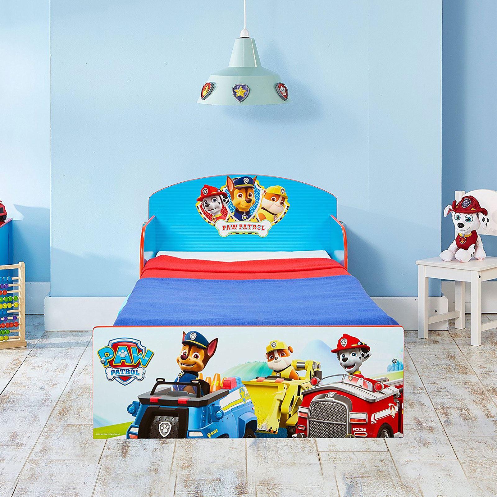paw patrol kleinkind bett junior kinder jungen matratze optionen ebay. Black Bedroom Furniture Sets. Home Design Ideas