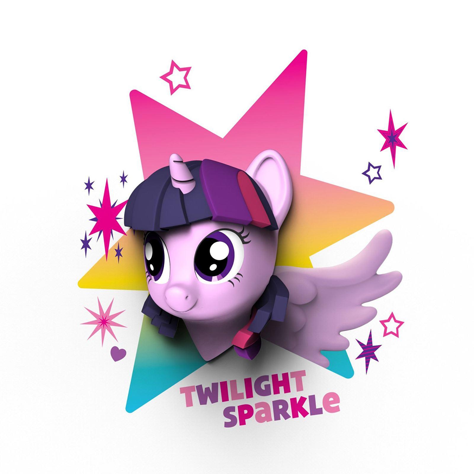3D light FX My Little Pony Pinkie Pie 3D Deco Mini-Sized LED Wall Light