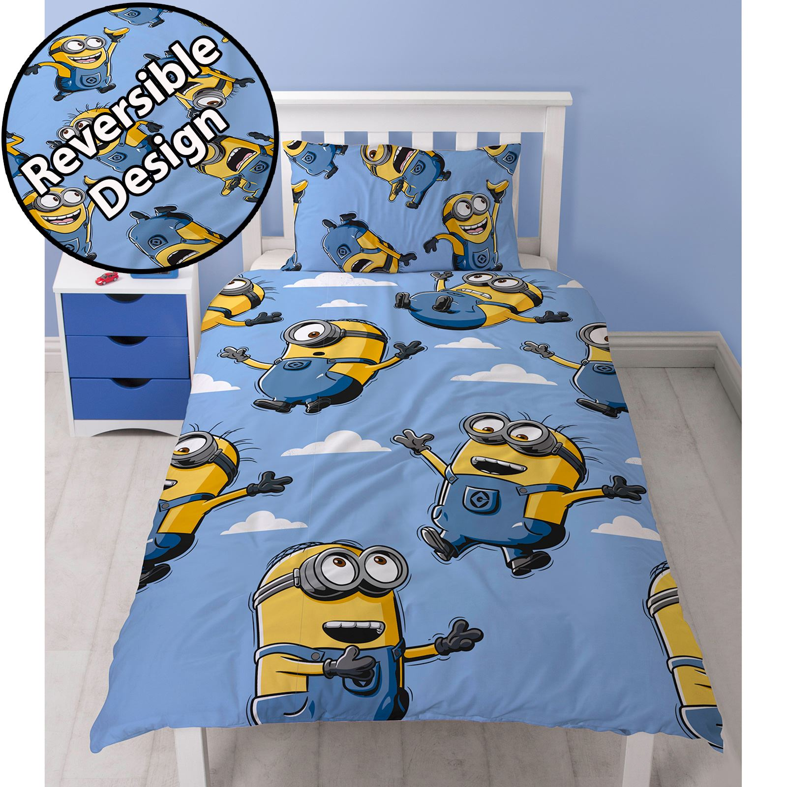 NEW DISNEY AND MARVEL KIDS CHARACTER DUVET SETS SINGLE DOUBLE