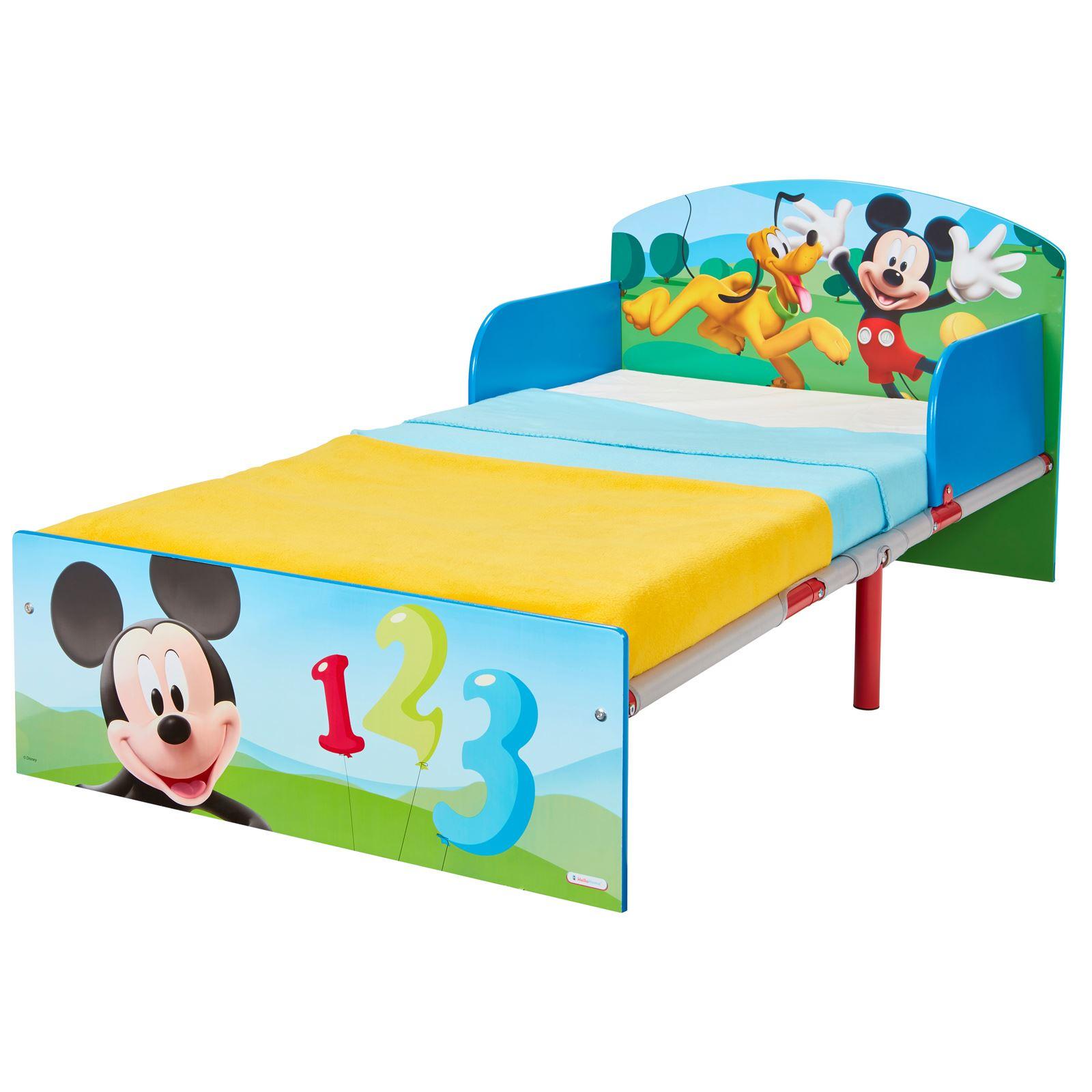 miniatura 20 - KIDS CHARACTER TODDLER BEDS - BOYS GIRLS BEDROOM DISNEY