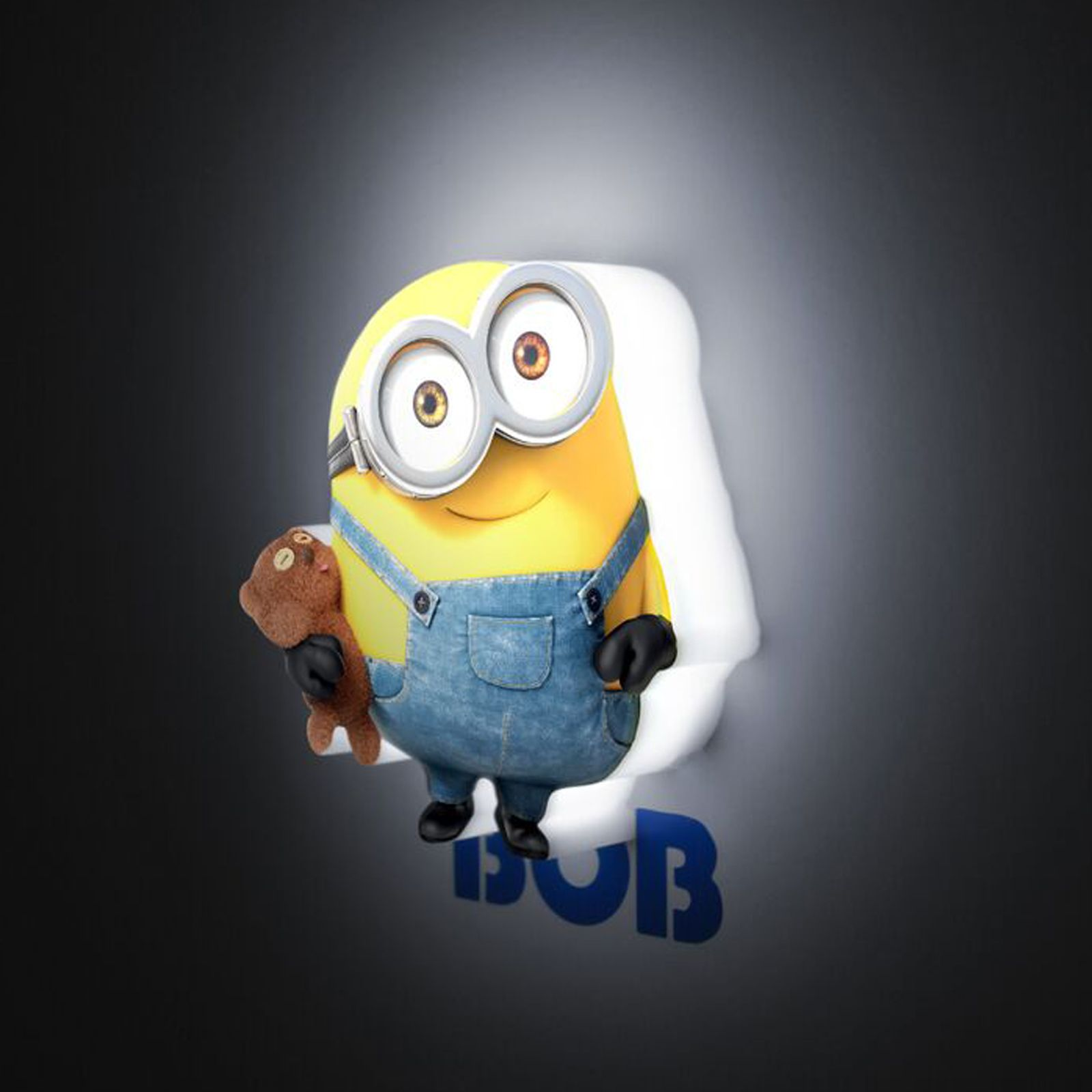 Minion Bedroom Wallpaper 3d Mini Led Wall Lights Kids Bedroom Lighting Minions Star Wars