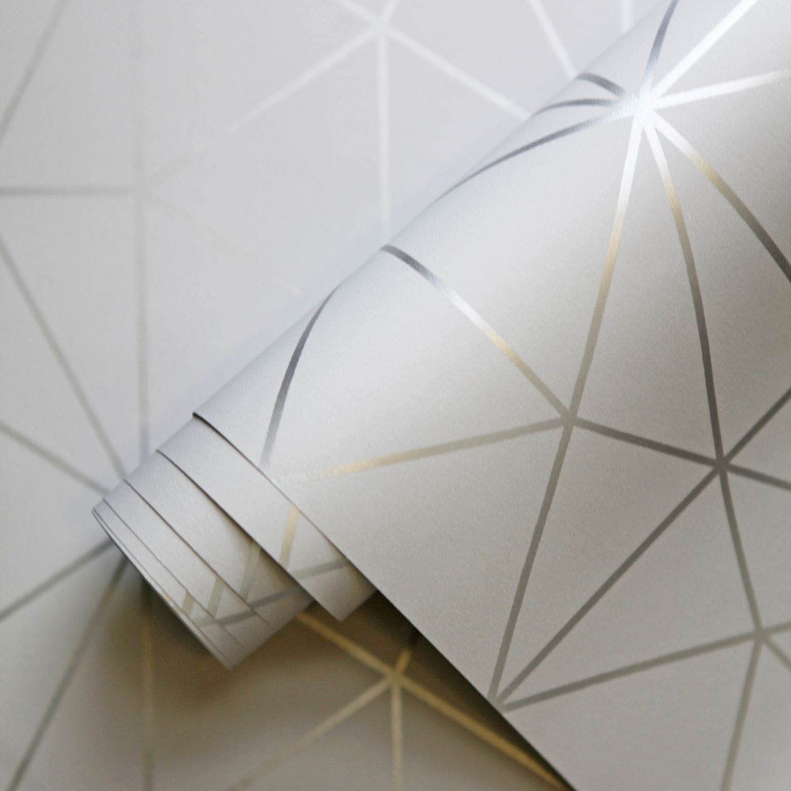 WORLD-OF-WALLPAPER-METRO-PRISM-TRIANGLE-GEOMETRIC-METALLIC-ROSE-GOLD-COPPER thumbnail 16