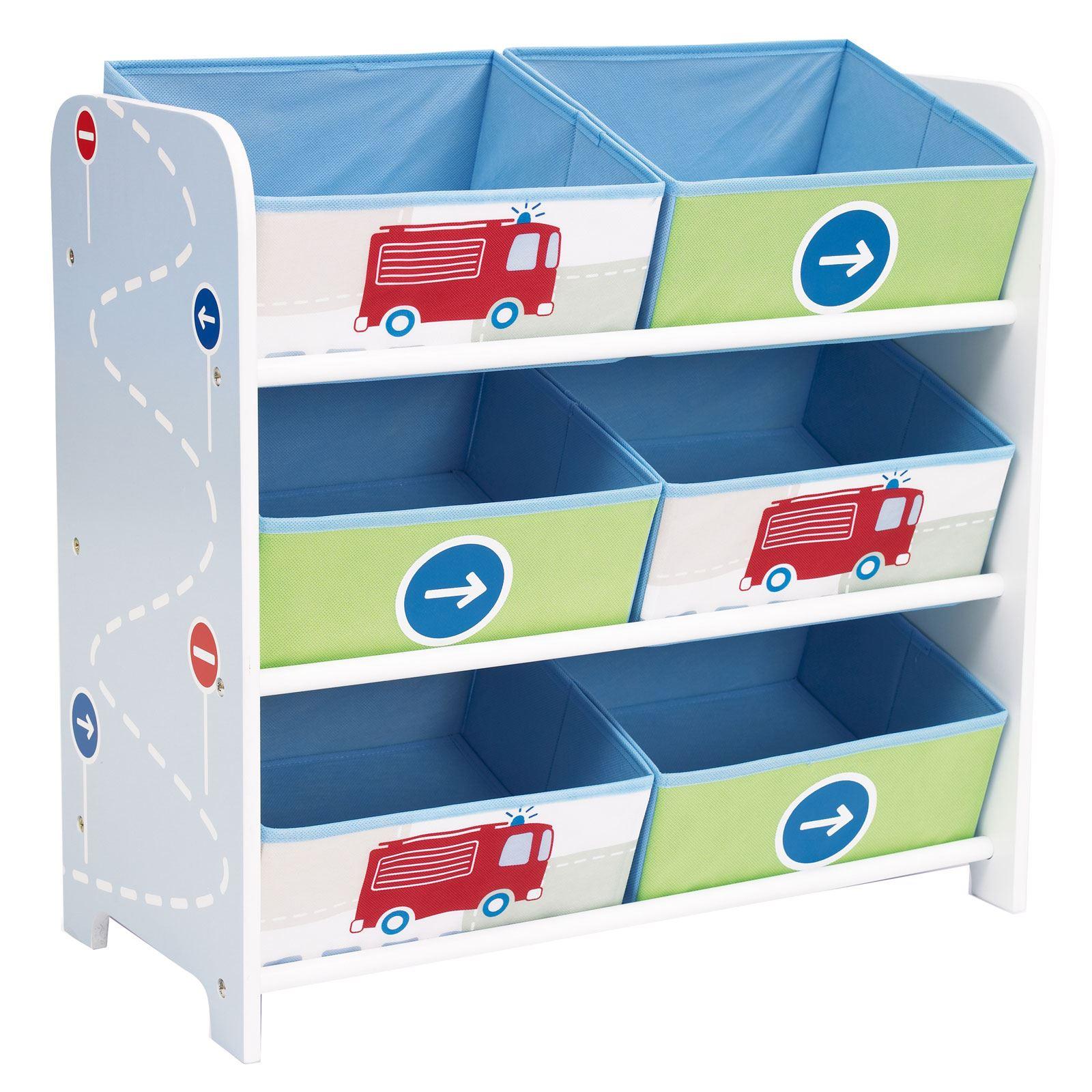 kids character 6 bin storage unit bedroom furniture disney. Black Bedroom Furniture Sets. Home Design Ideas
