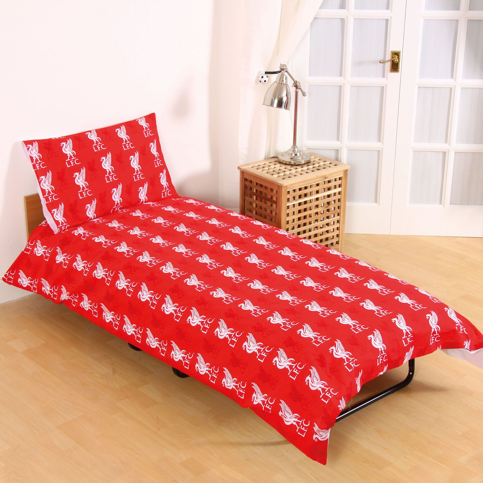 Liverpool Fc Bedroom Accessories Liverpool Fc Single And Double Duvet Cover Sets Bedroom Bedding