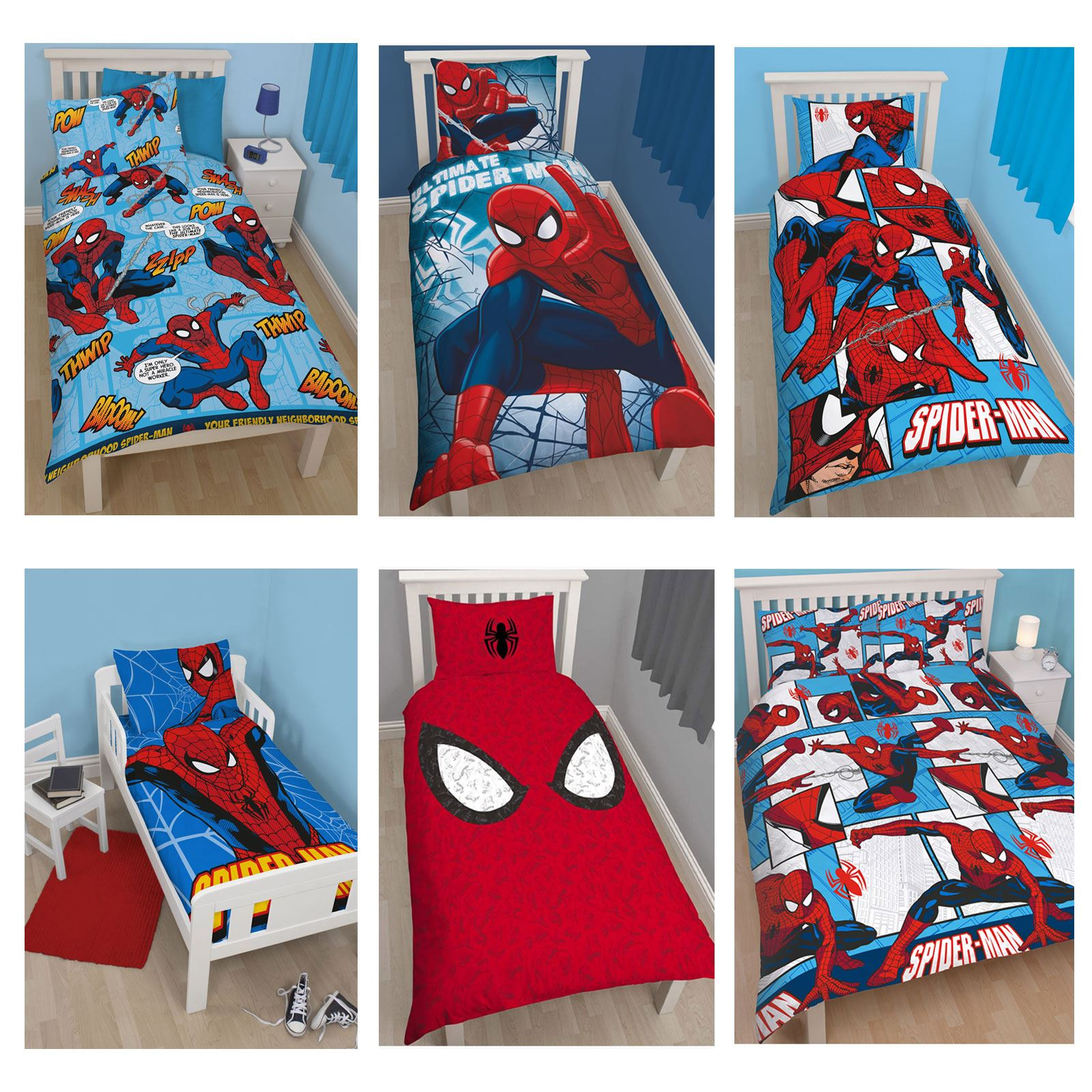 childs set dk unusual ideas bedroom furniture engaging budget a boys on blue winsome room home spiderman kids bed