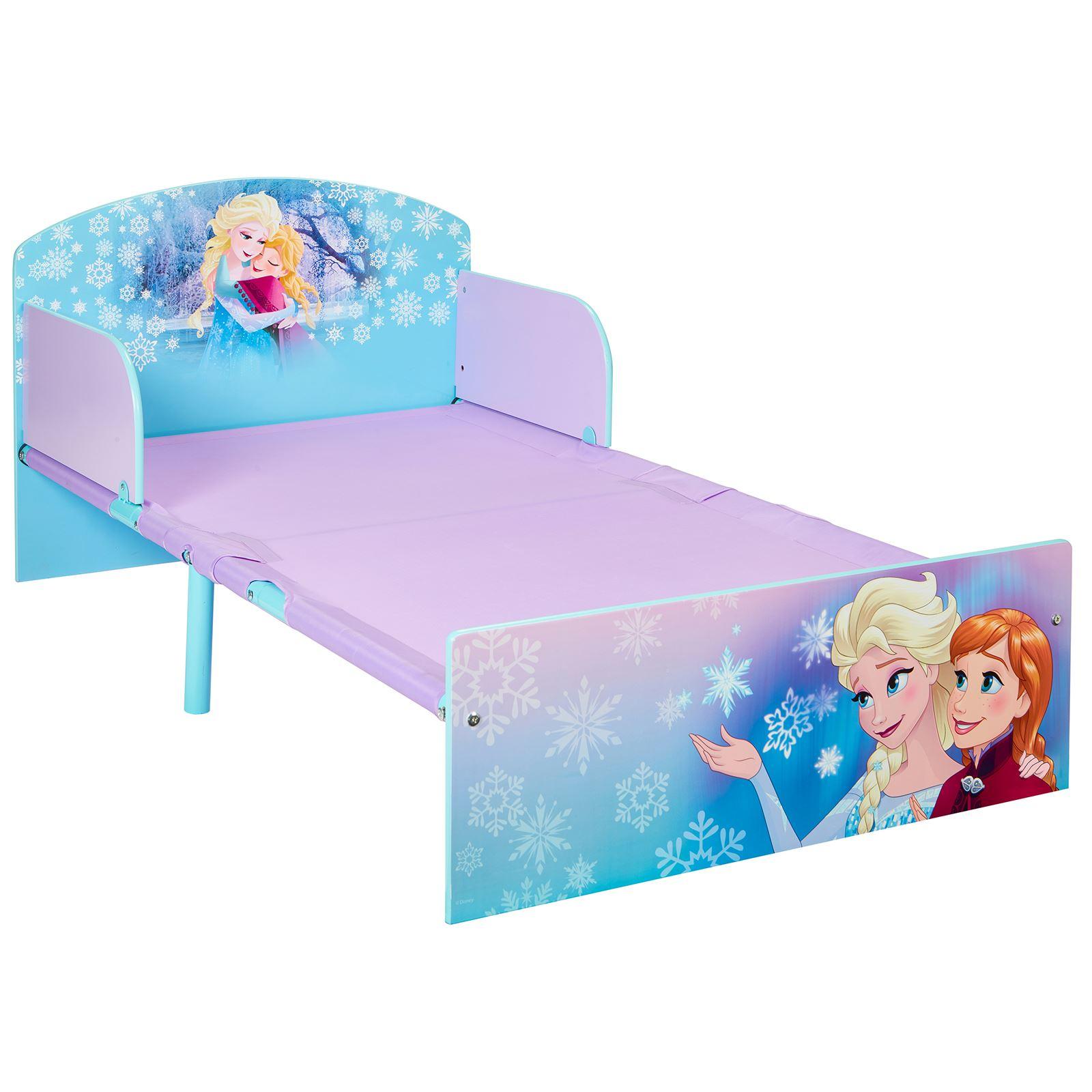disney frozen kleinkind bett elsa anna schaum matratze. Black Bedroom Furniture Sets. Home Design Ideas