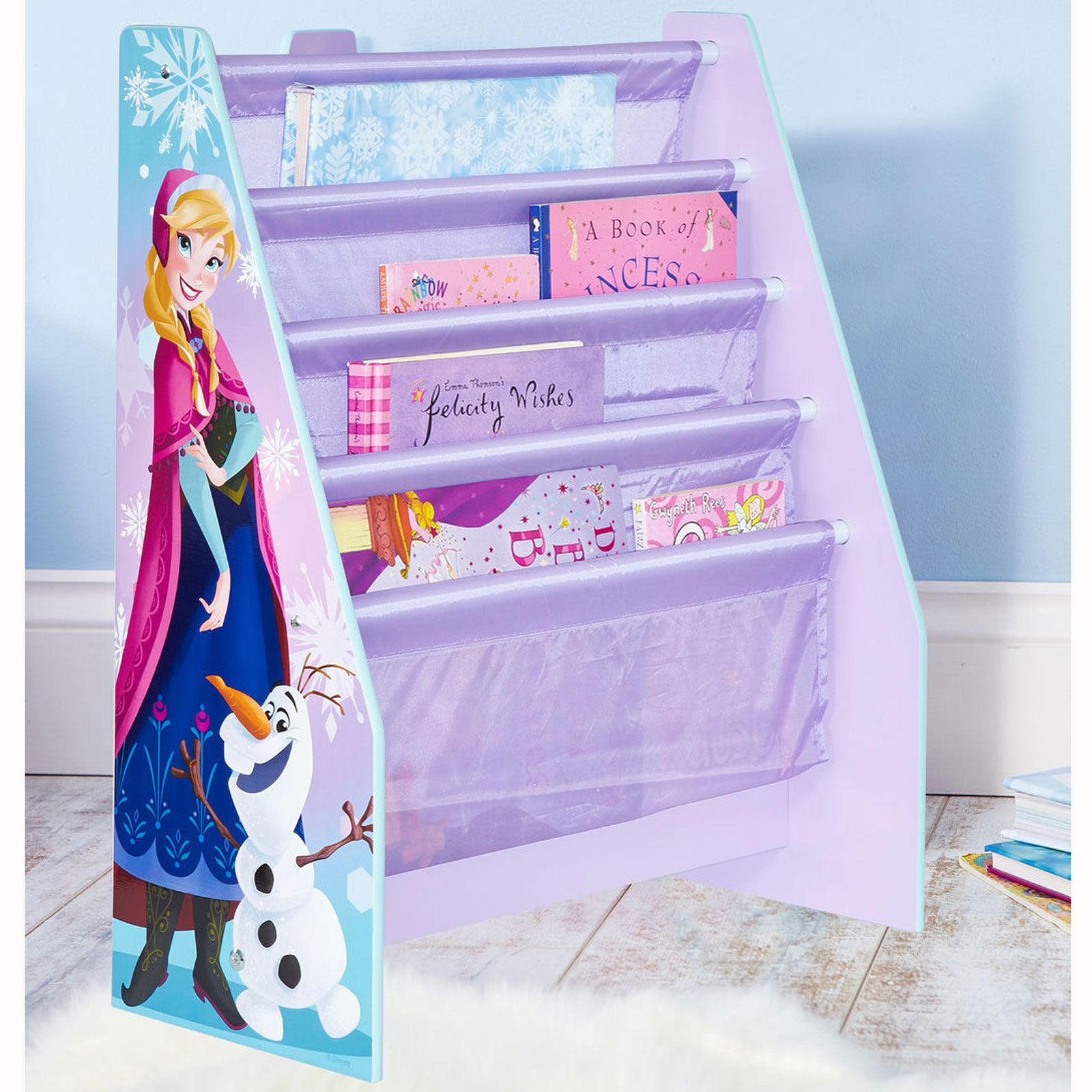 disney frozen riemen b cherschrank neu m dchen schlafzimmer aufbewahrung ebay. Black Bedroom Furniture Sets. Home Design Ideas