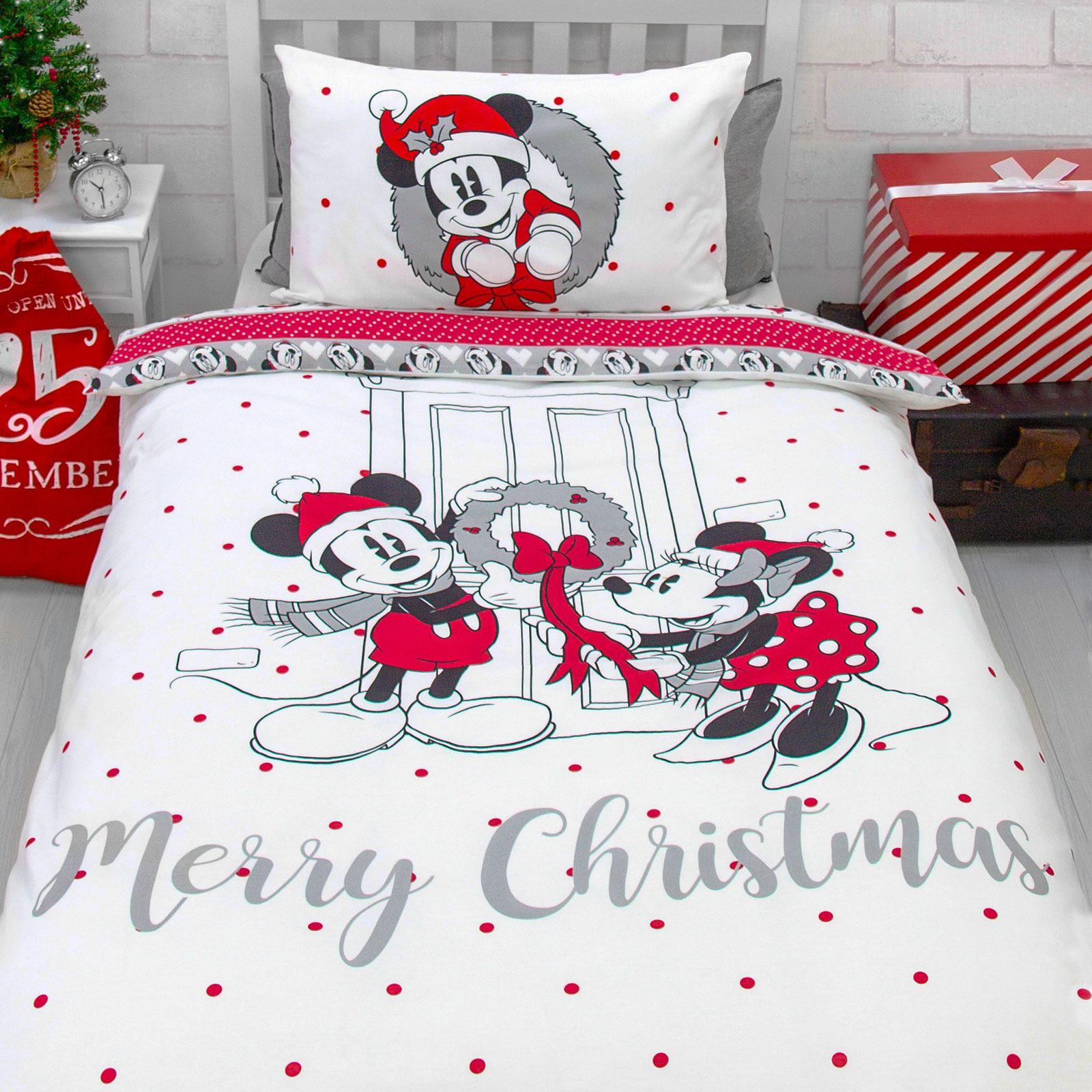 Indexbild 51 - Kinder Weihnachten Bettbezug Sets - Junior Einzel Doppel King - Elf Emoji Grinch