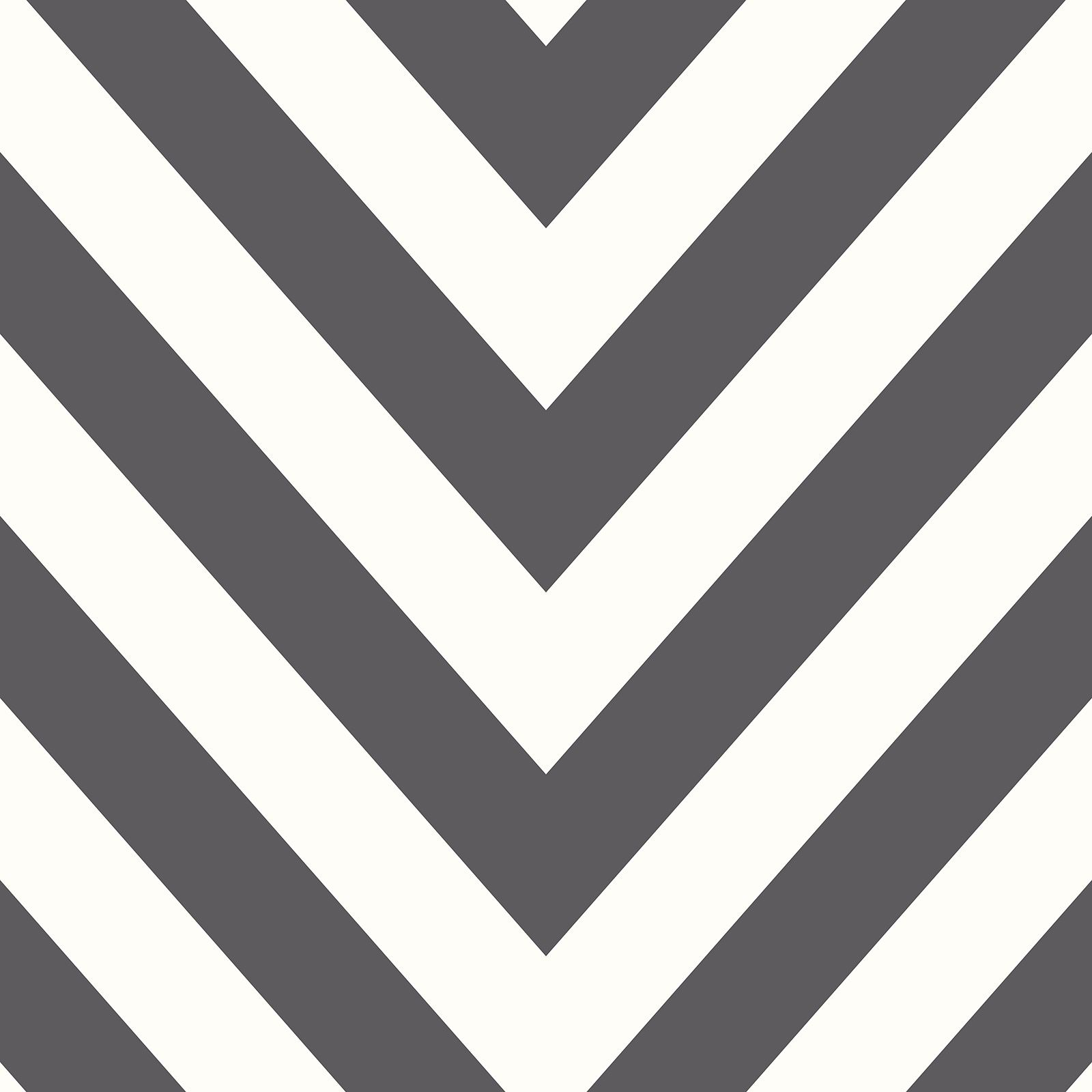 Details About Chevron Zig Zag Wallpaper Black White Holden Decor 12574 New