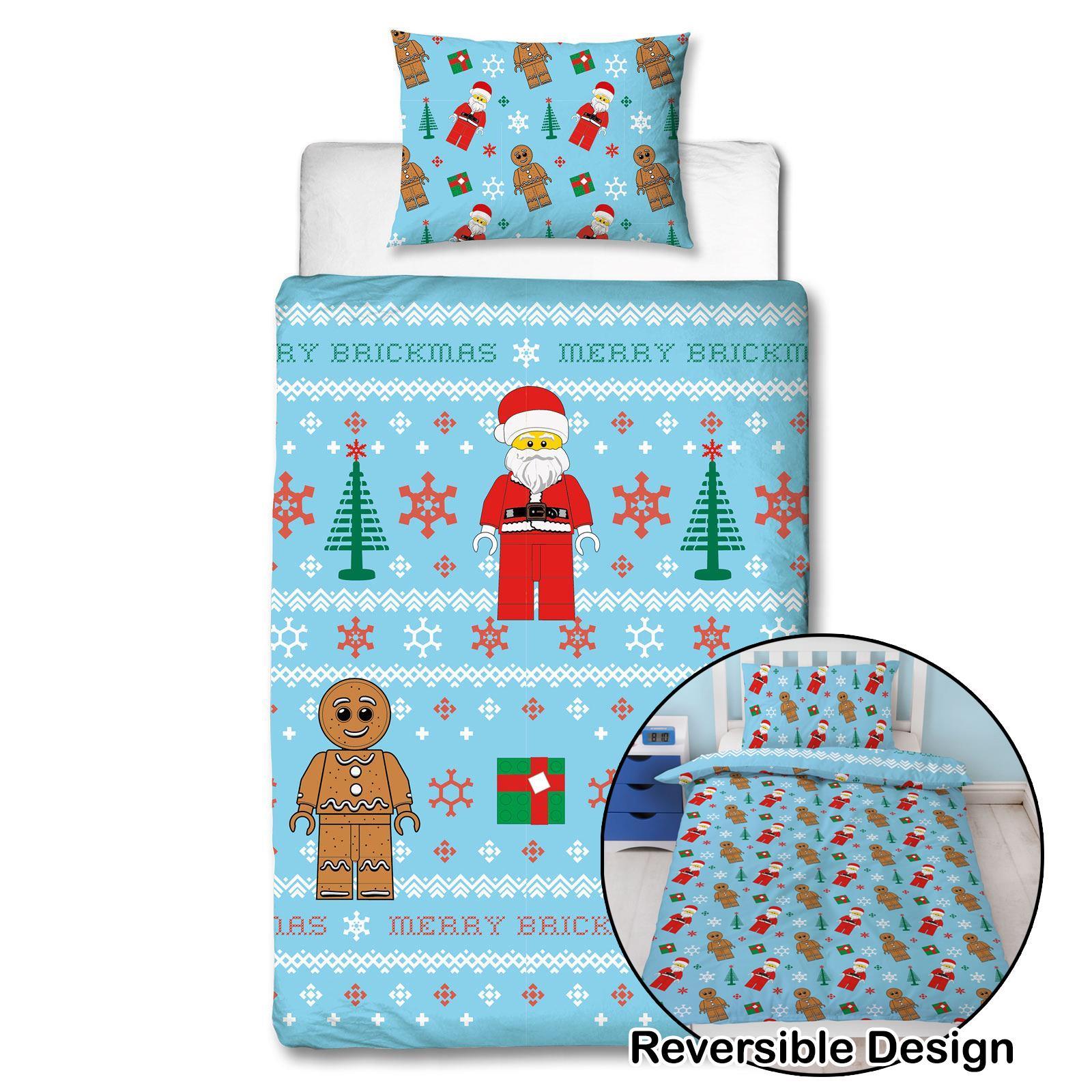 Indexbild 41 - Kinder Weihnachten Bettbezug Sets - Junior Einzel Doppel King - Elf Emoji Grinch