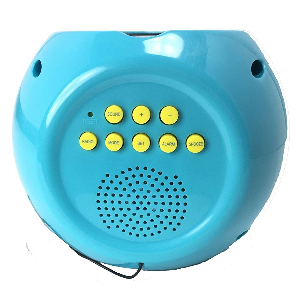 Projector Alarm Clock Radio Kids Pj Masks Disney