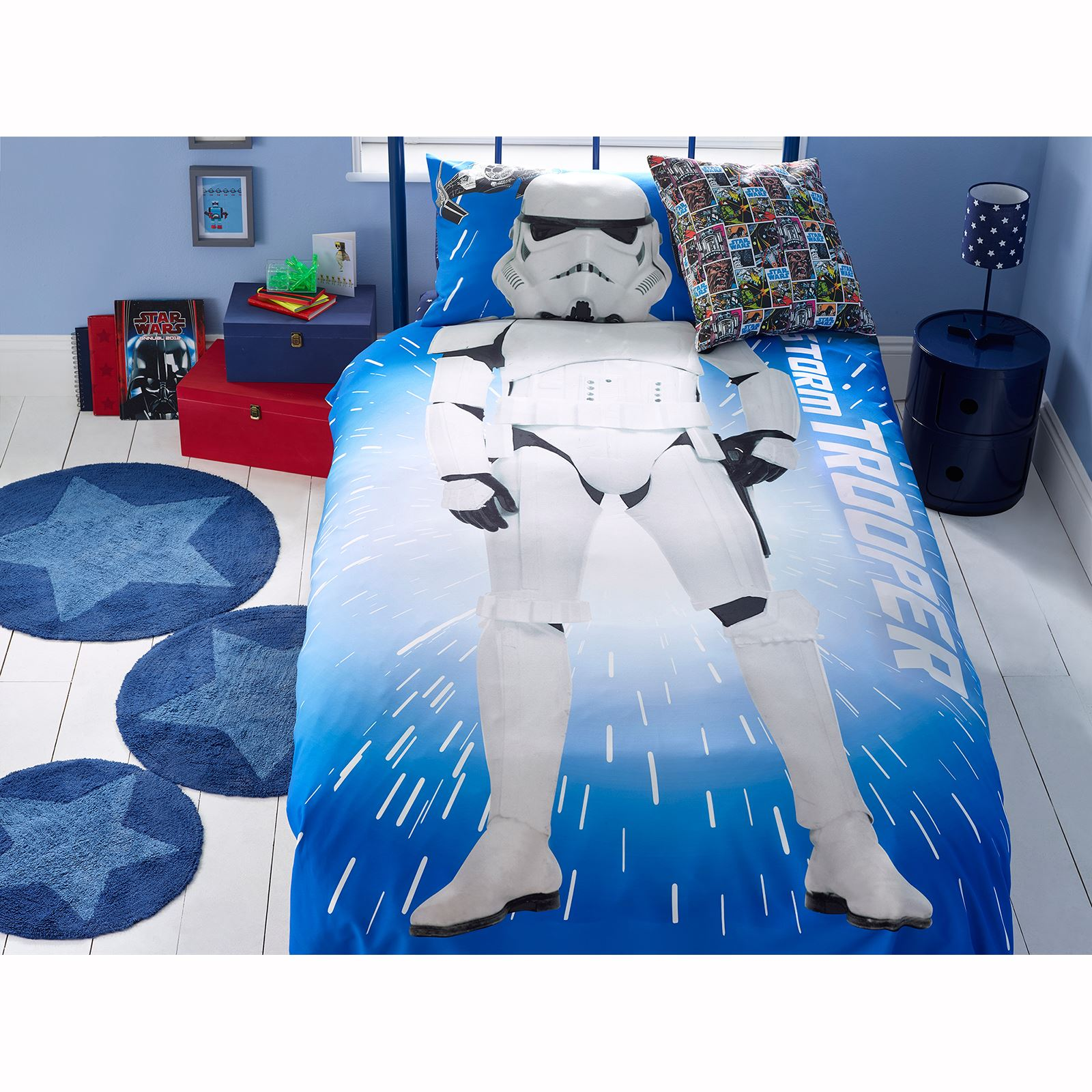 star wars duvet covers bedding bedroom new and official ebay. Black Bedroom Furniture Sets. Home Design Ideas