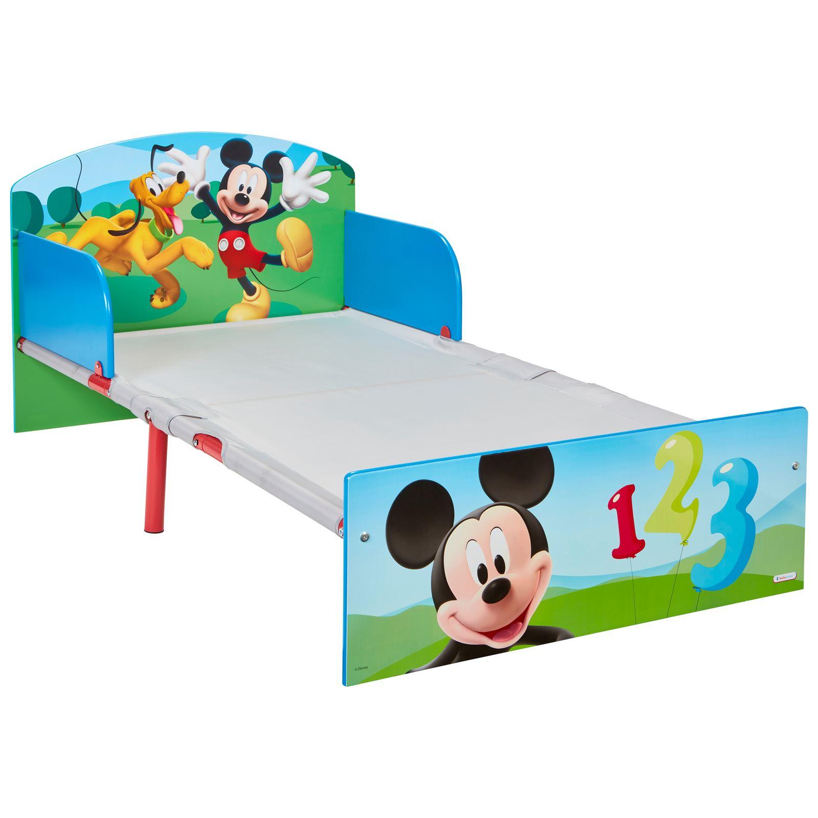 miniatura 22 - KIDS CHARACTER TODDLER BEDS - BOYS GIRLS BEDROOM DISNEY