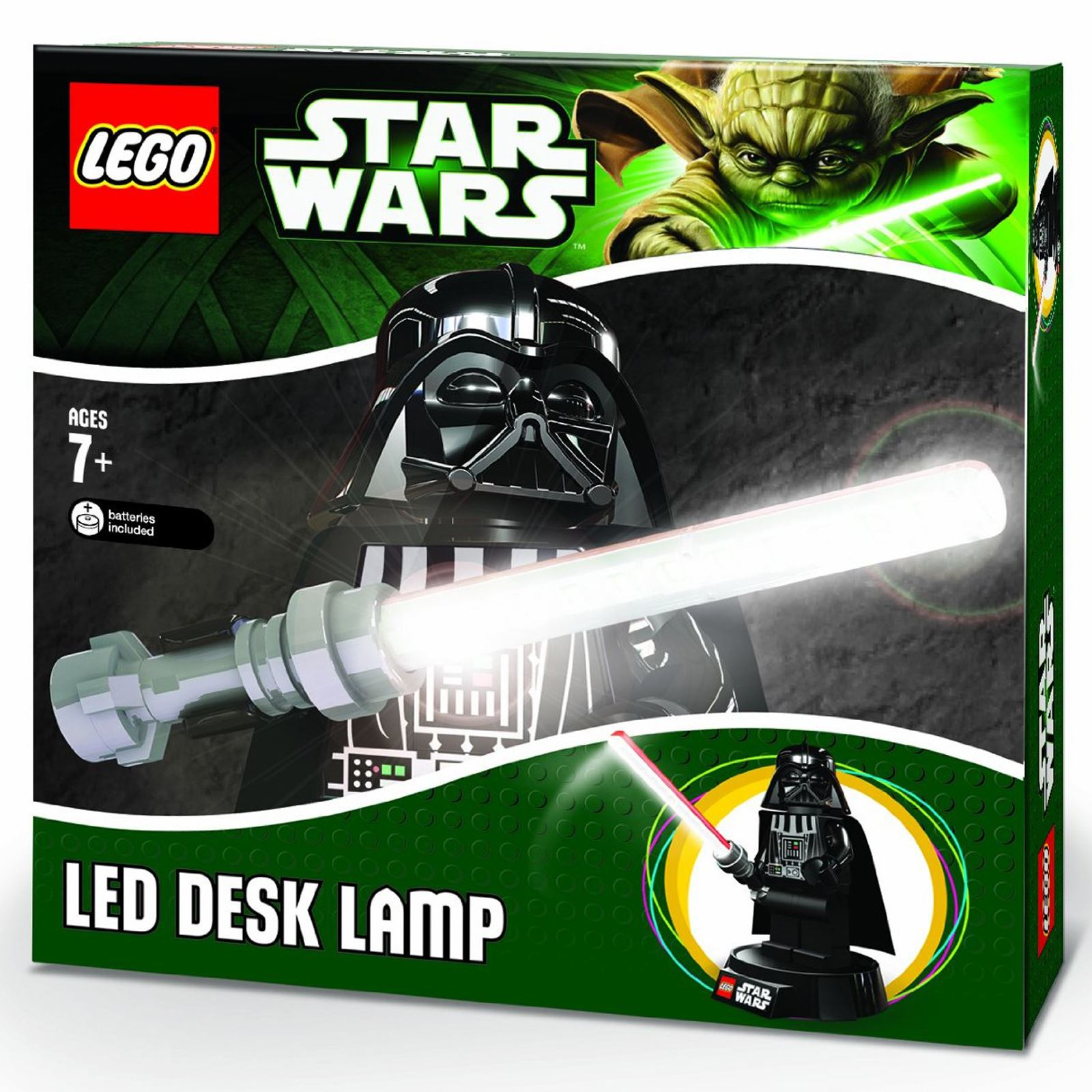 Star wars lego nuit lumière//lampe//torche-boba darth /& trooper yoda new-officiel!