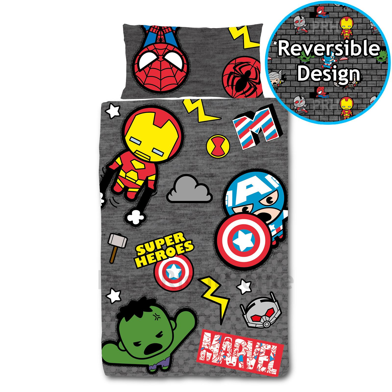OFFICIAL-AVENGERS-MARVEL-COMICS-BEDDING-BEDROOM-ACCESSORIES-DUVETS-CURTAINS