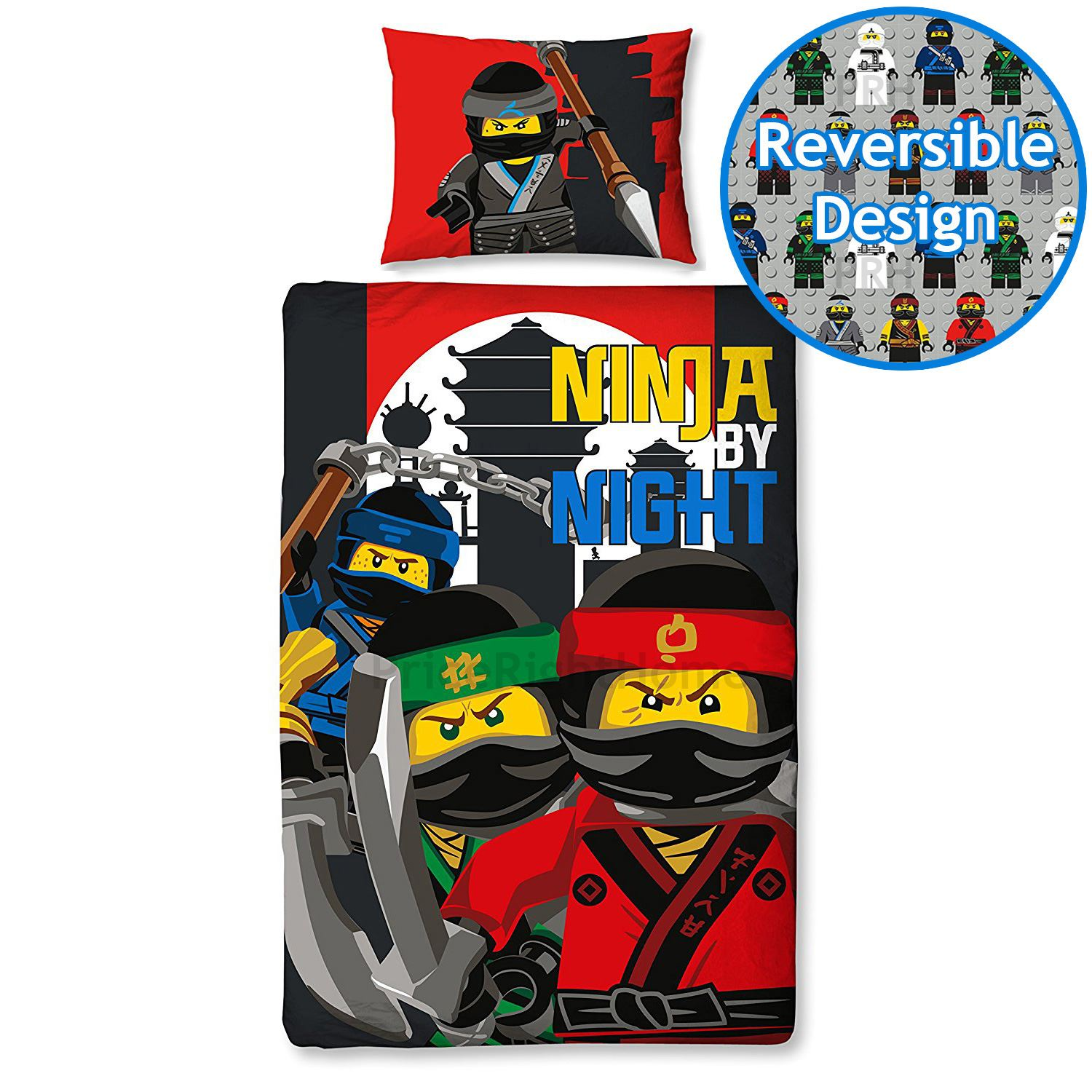 lego ninjago einzel bettw sche sets wende kinder jungen verschiedene deigns ebay. Black Bedroom Furniture Sets. Home Design Ideas