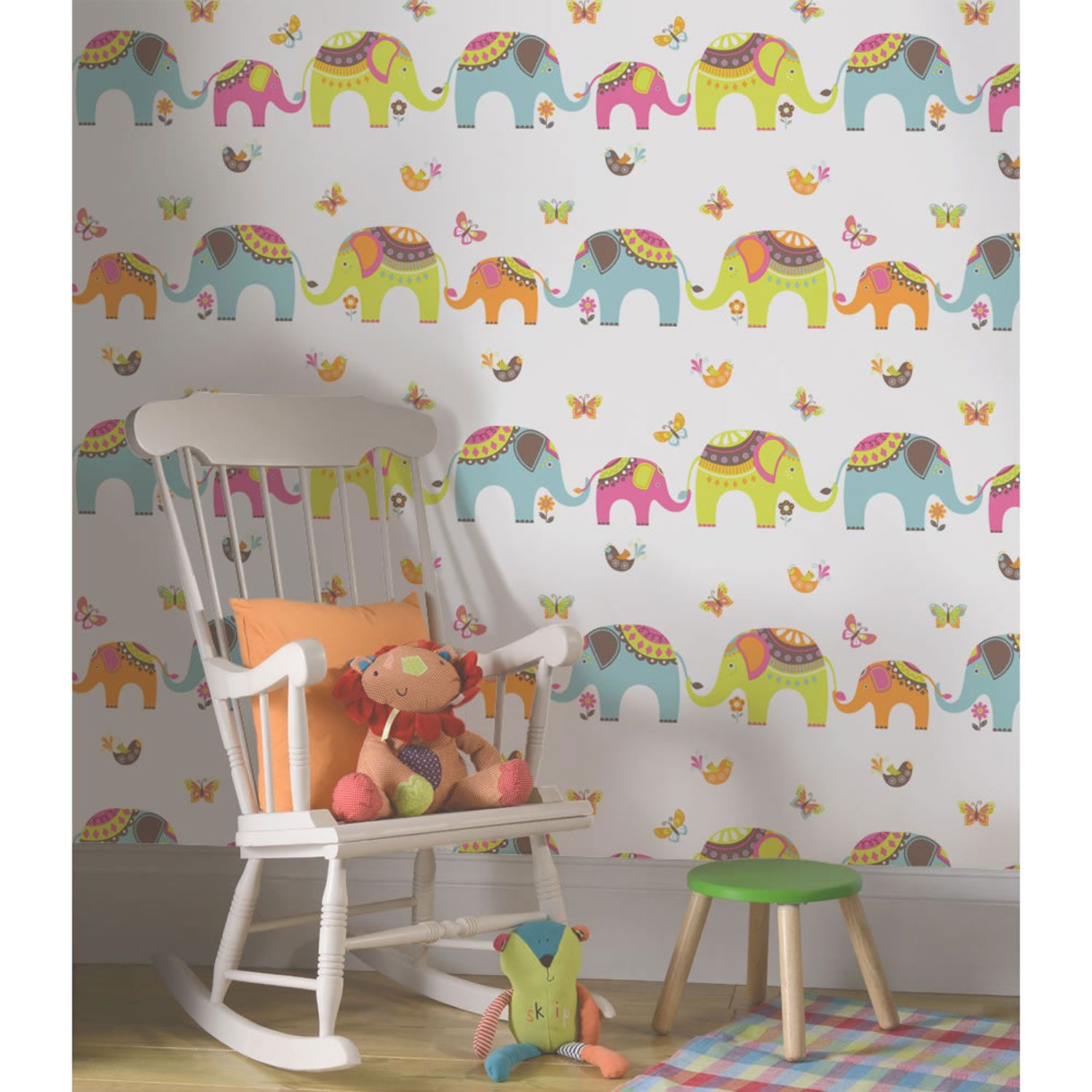Kids bedroom nursery wallpaper holden decor playtime Wallpaper for childrens room
