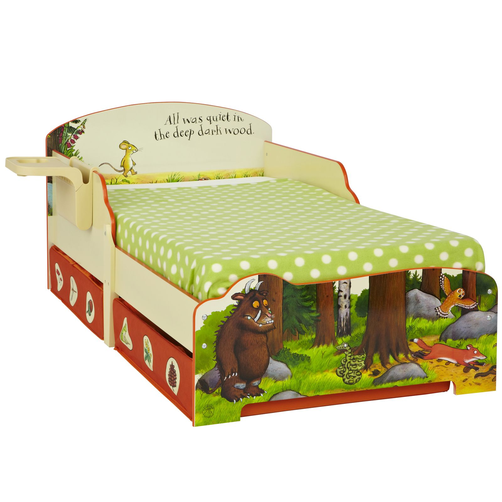 storage pricerighthome with underbed toddler owls bed