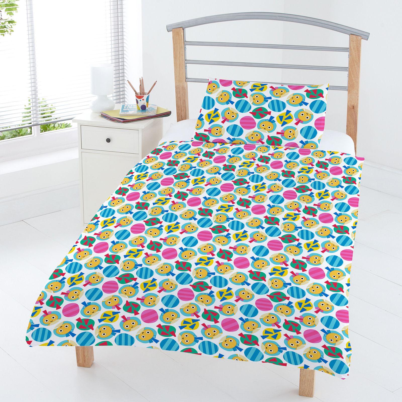 Junior 4 In 1 Bedding Bundles Duvet Pillow Covers