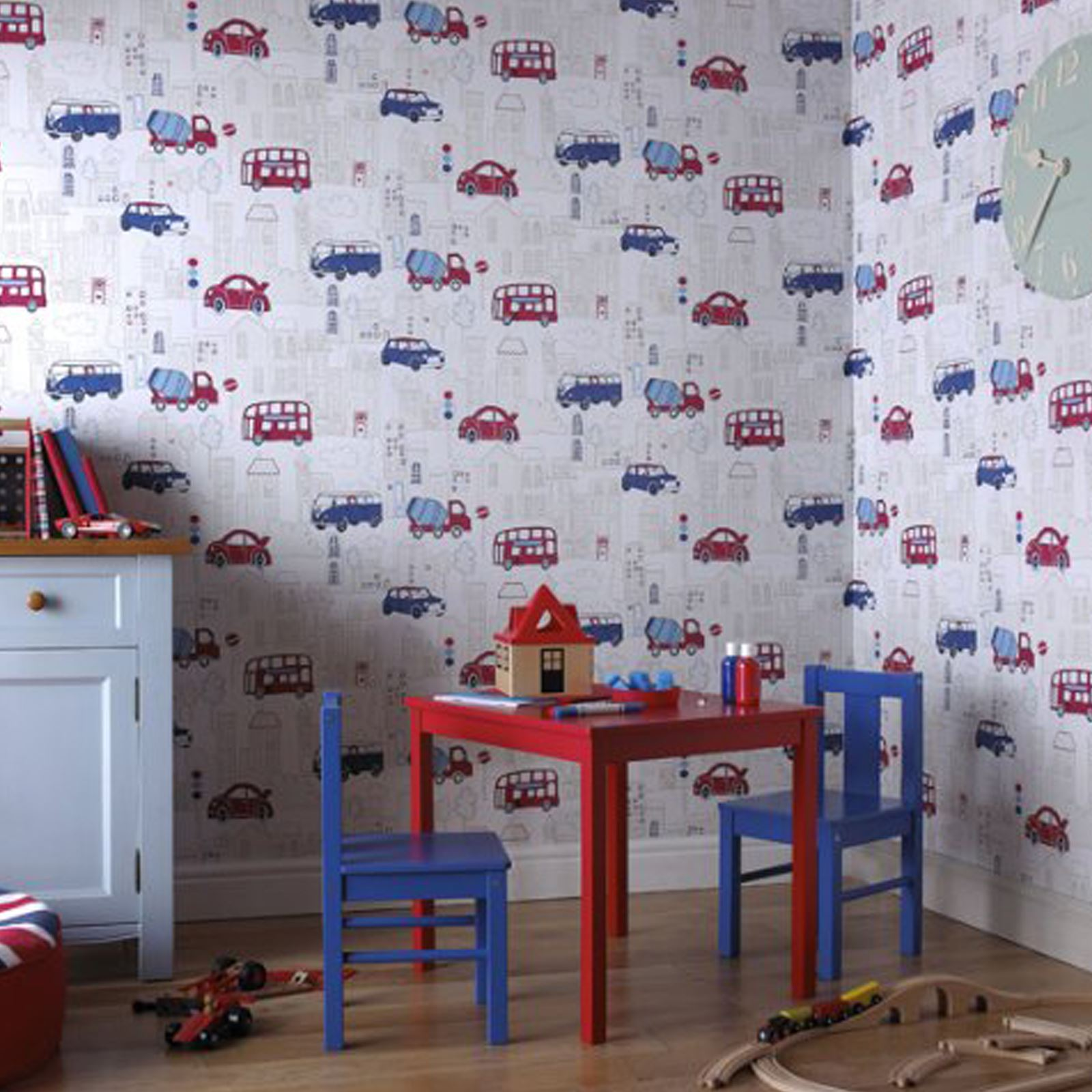 Transport And Vehicles Themed Wallpaper Amp Borders Bedroom