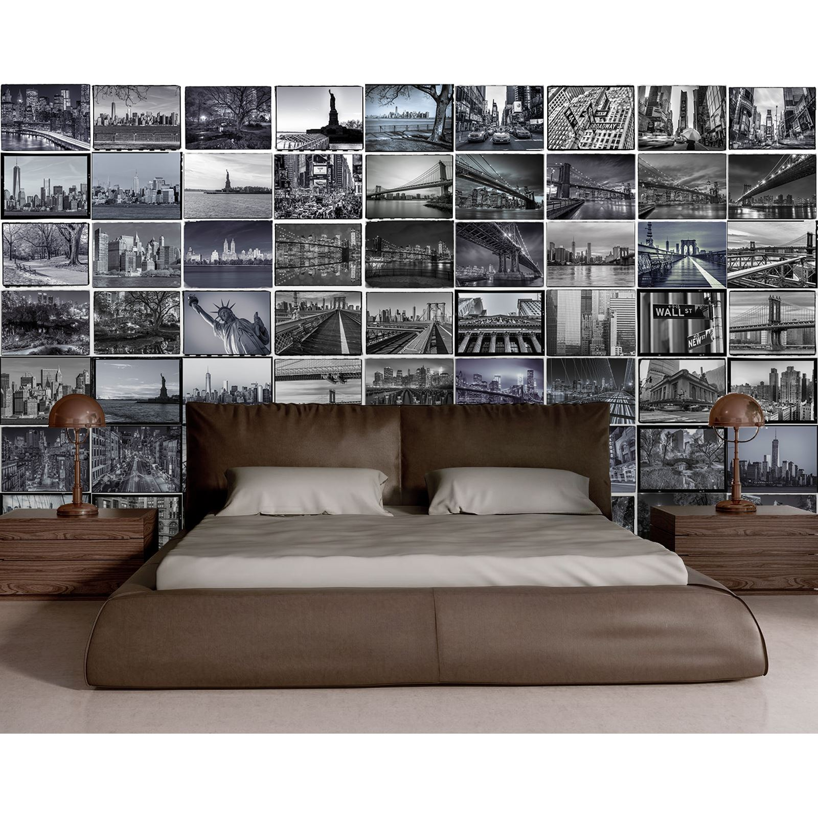 CREATIVE COLLAGE DESIGNER 64 PIECE WALL MURAL NEW  Part 91