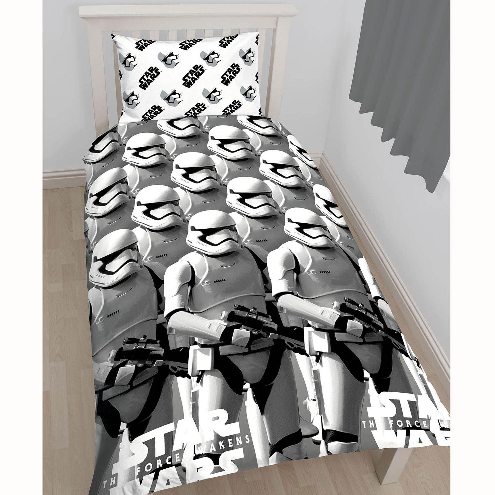 Simple Star Wars Épisode VIII Trooper Set Housse de Couette Enfants Réversible