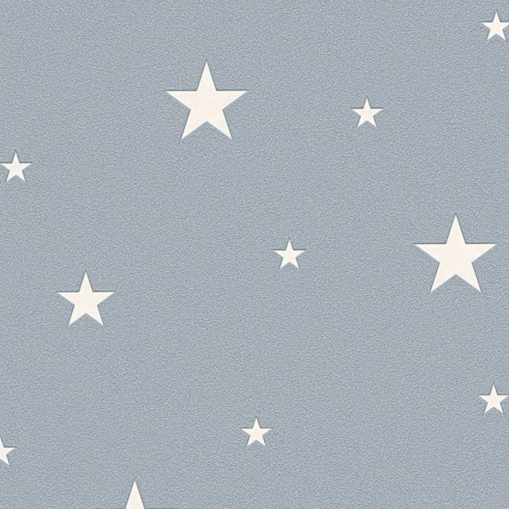 as creation glow in the dark stars wallpaper feature wall grey taupe white ebay. Black Bedroom Furniture Sets. Home Design Ideas