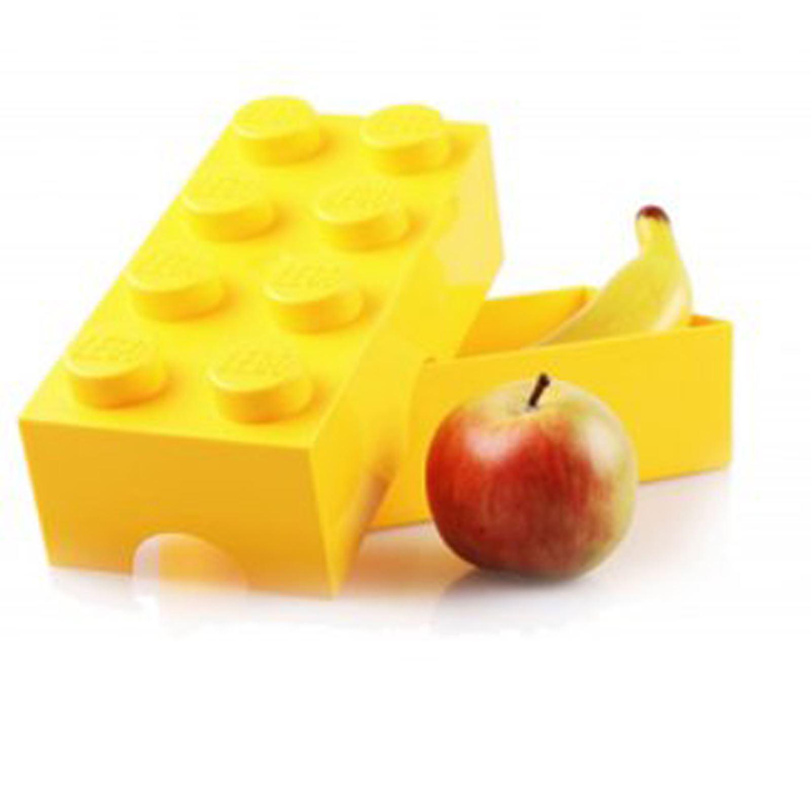 LEGO LUNCH STORAGE BOX BLUE CHILDRENS SCHOOL LUNCH BOX NEW