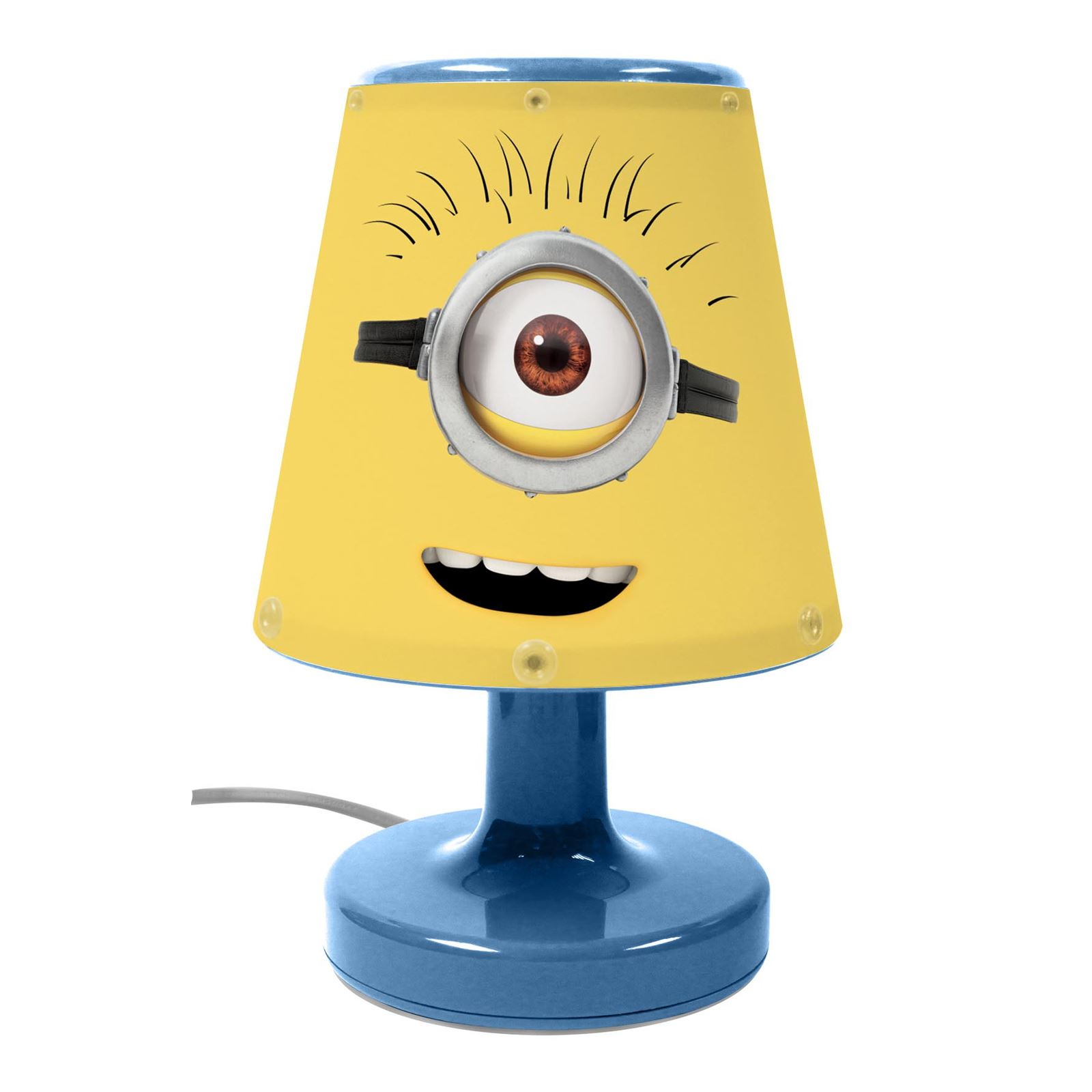 DESPICABLE ME MINIONS BEDSIDE LAMP CHILDRENS BEDROOM NIGHT LIGHT OFFICIAL  NEW