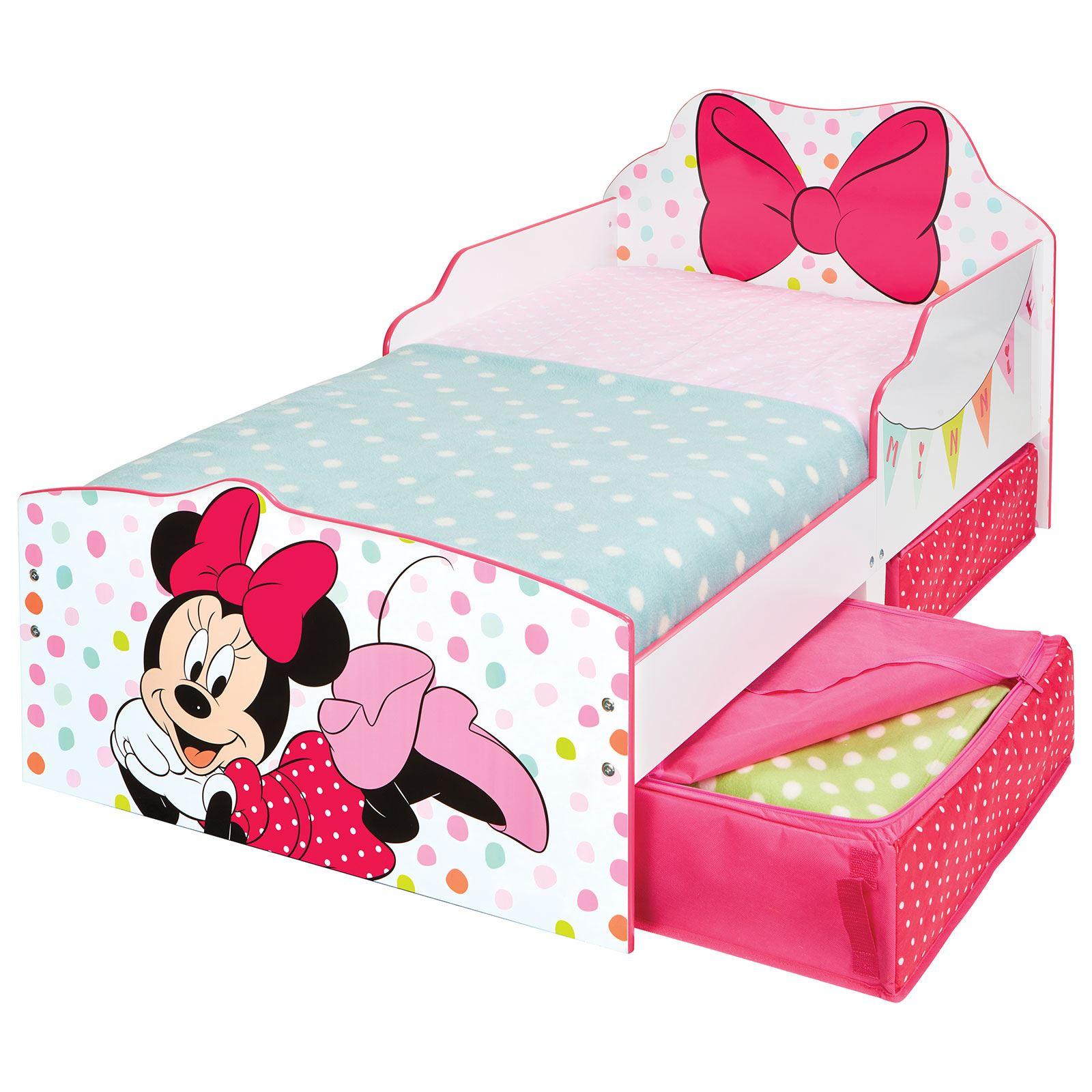 Minnie Mouse junior cama infantil con inferior almacenaje + 3 ...
