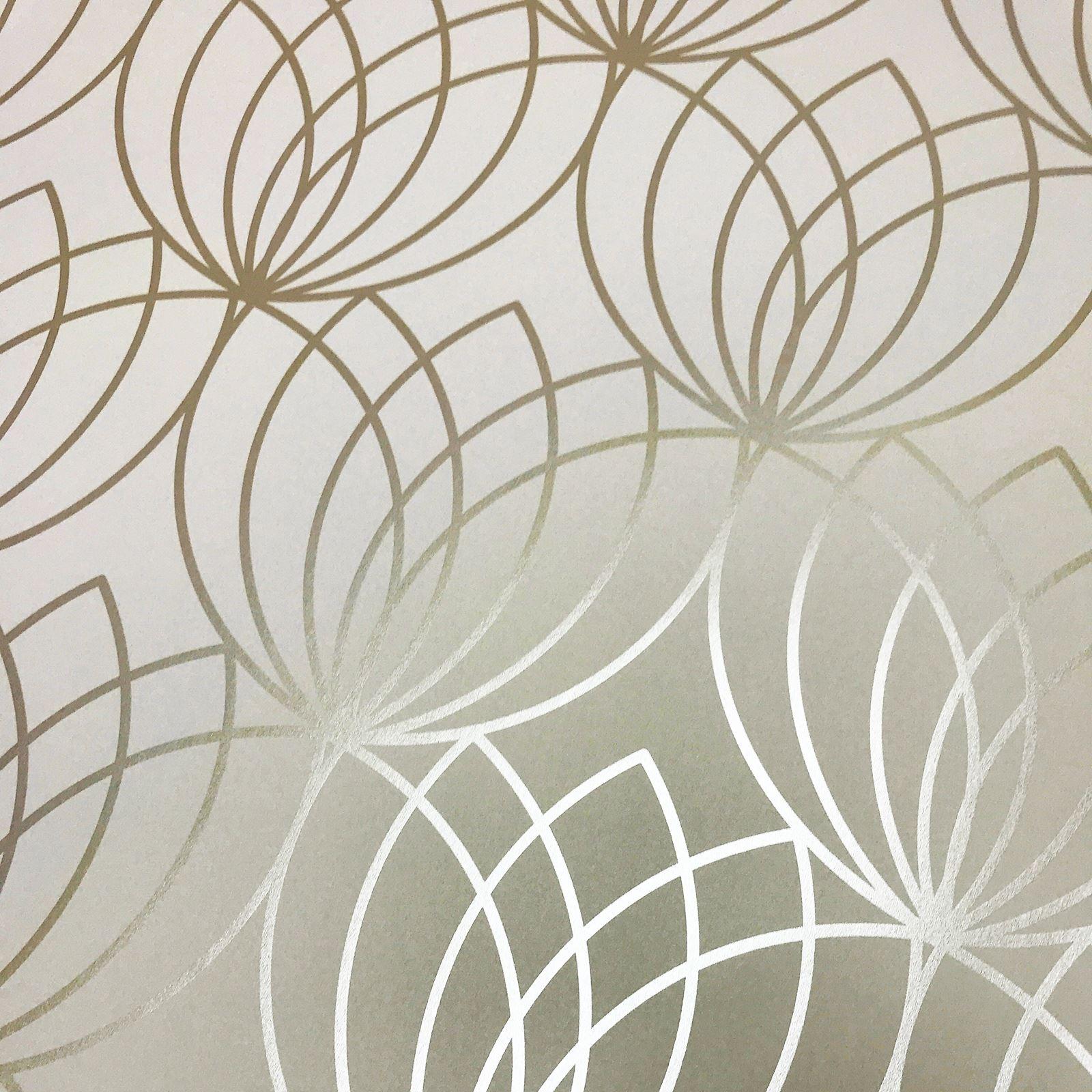 Trellis Wallpaper Metallic: METALLIC TEXTURED SMOOTH