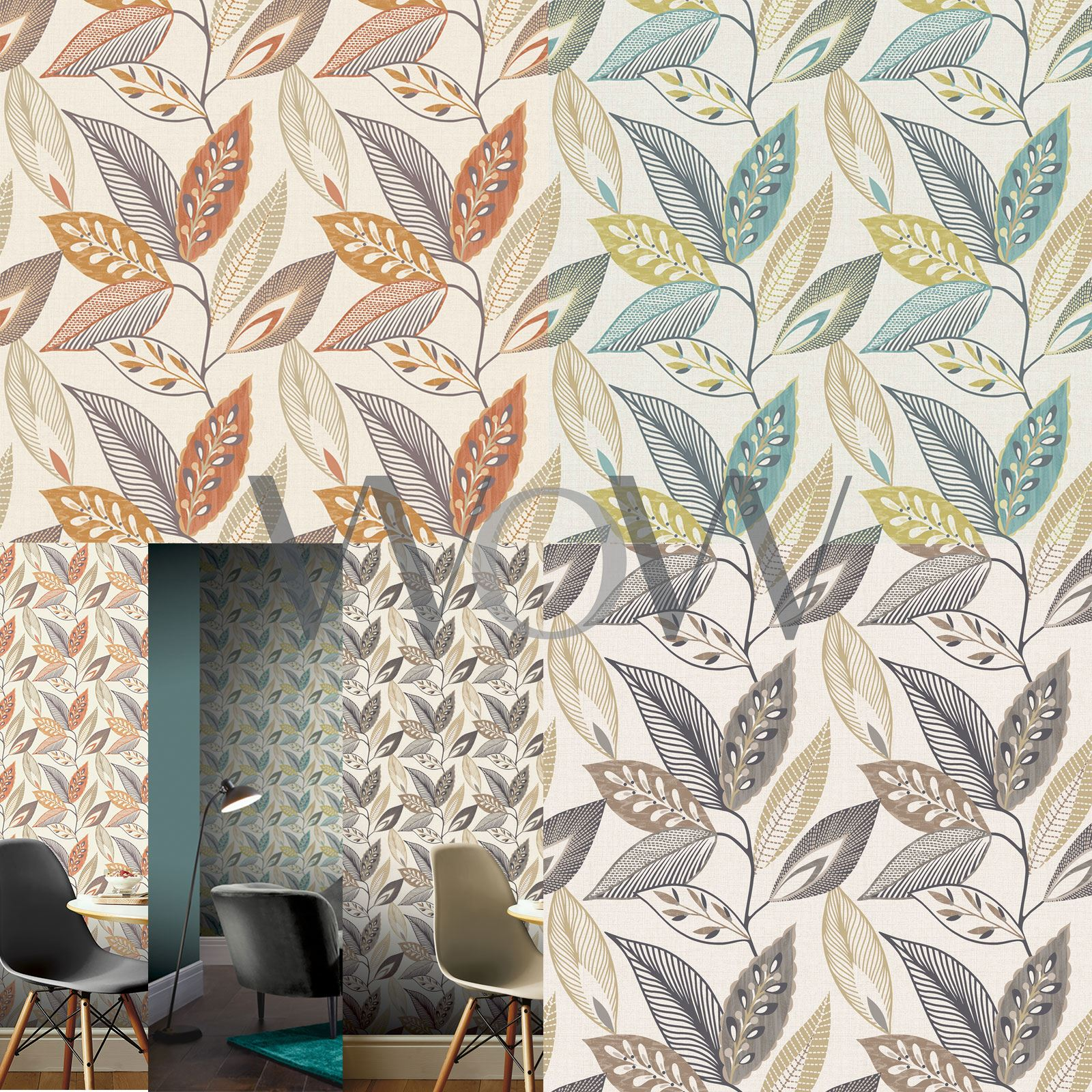 Arthouse Biege Wallpaper Roll Colour Opera Floral Motif Design 615503
