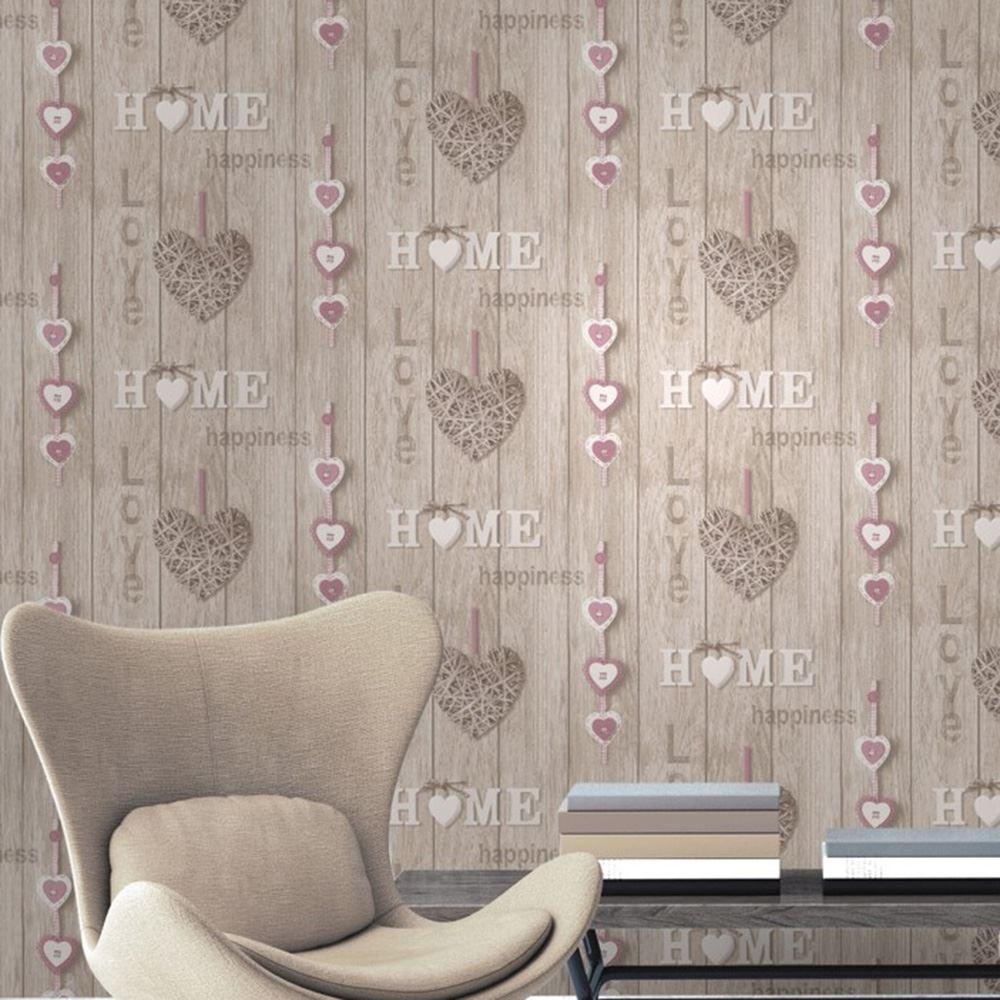 love your heim tapete lila fine decor fd41720 shabby chic neu ebay. Black Bedroom Furniture Sets. Home Design Ideas