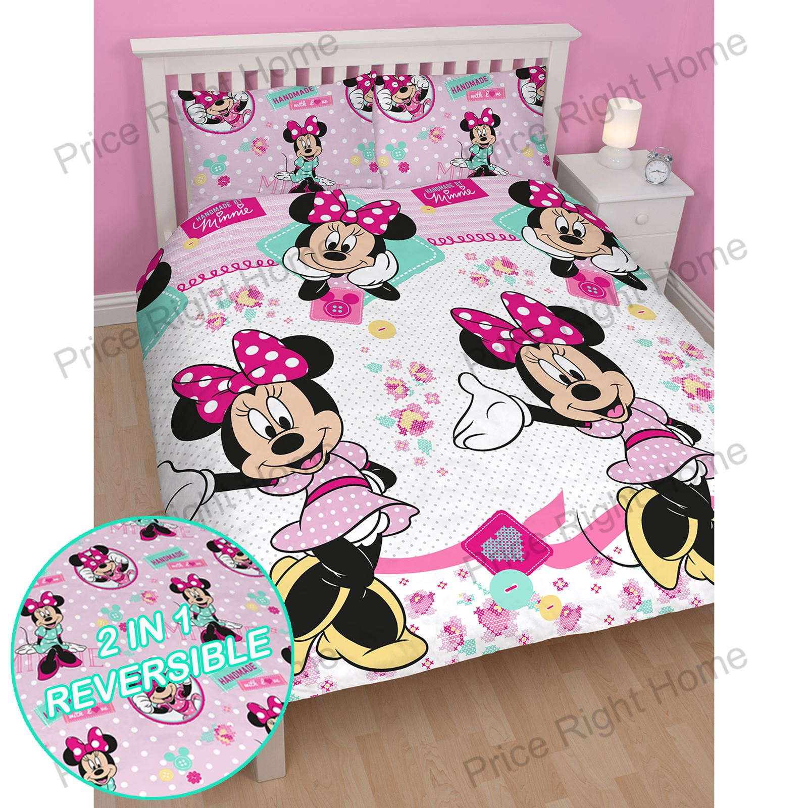 DISNEY MINNIE MOUSE OFFICIAL SINGLE DOUBLE Amp JUNIOR