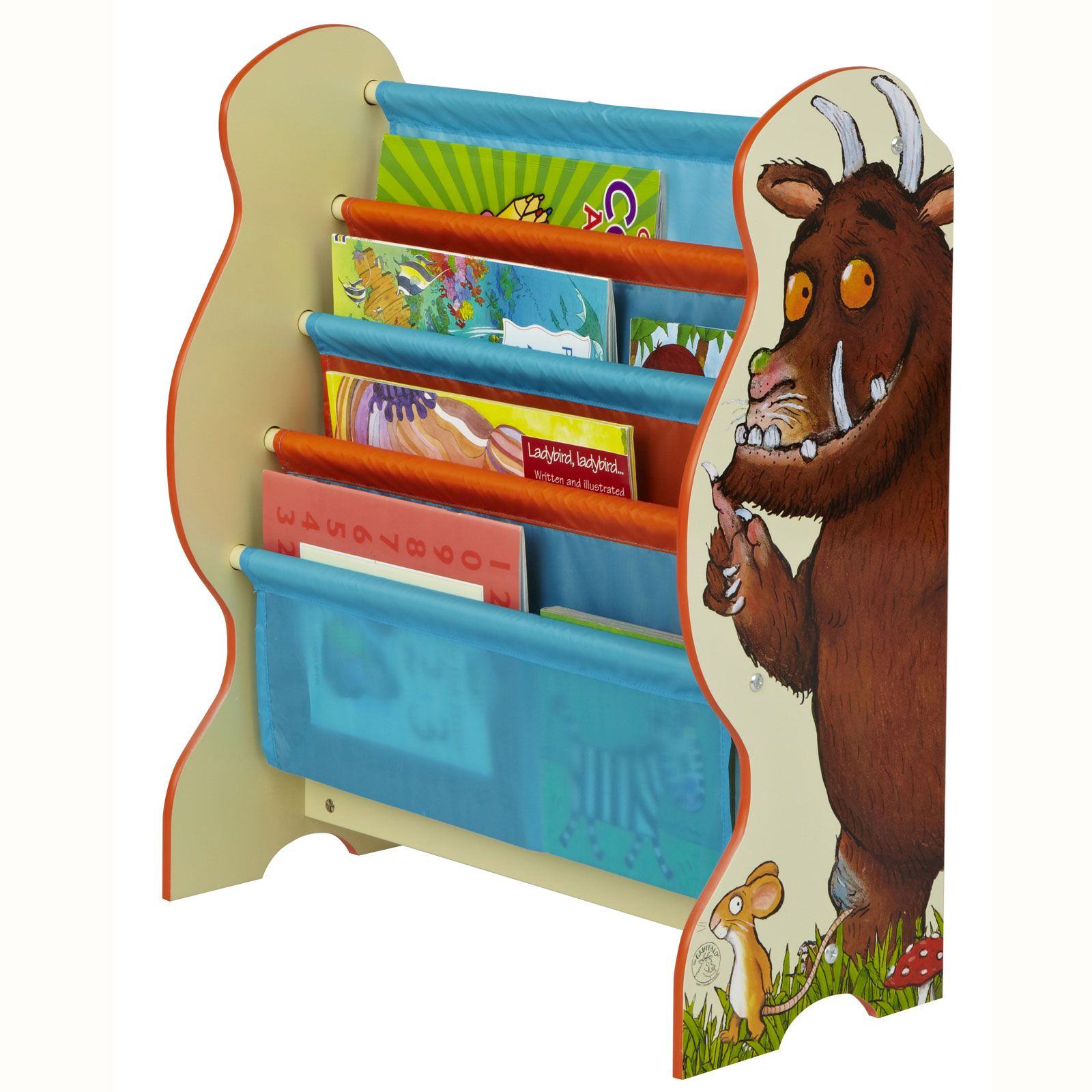 Bedrooms With Character To Match And Shape Your Kid S Personality: Kids Character Sling Bookcase Bedroom Storage