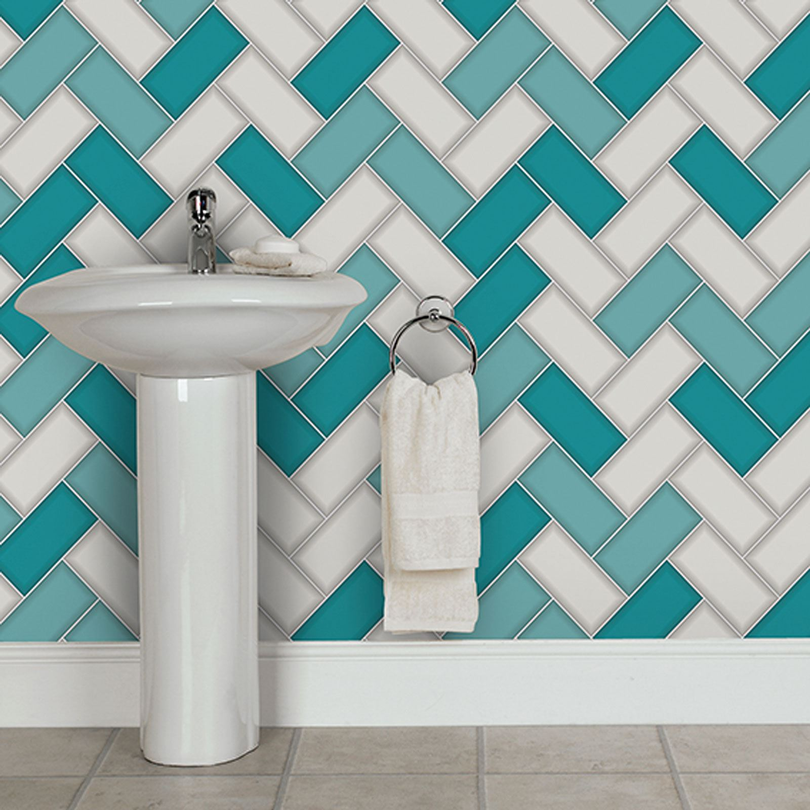 holden tiling on a roll tile glitter textured wallpaper 11729