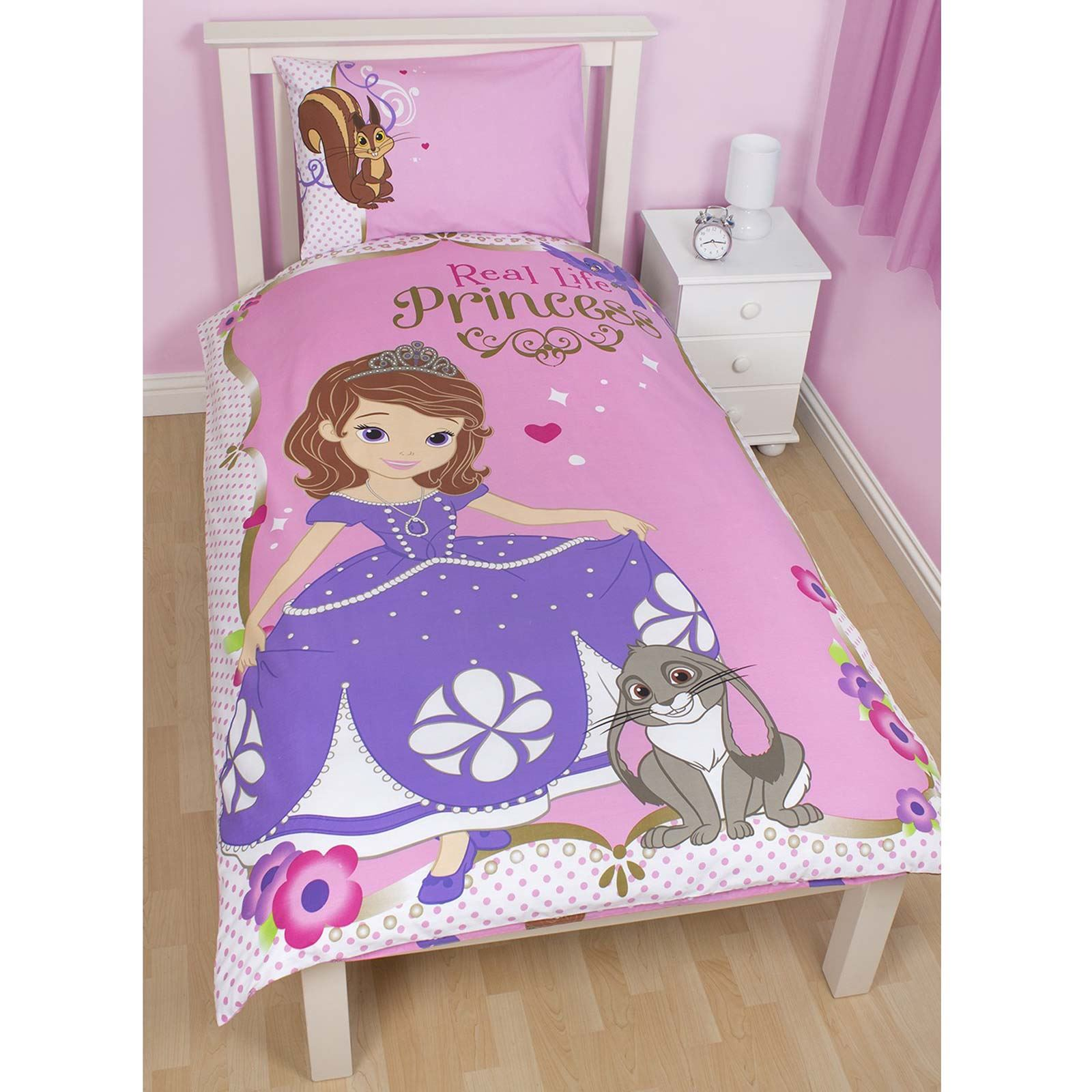 Disney sofia the first bedding single double junior duvet cover disney sofia the first bedding single double amp amipublicfo Images