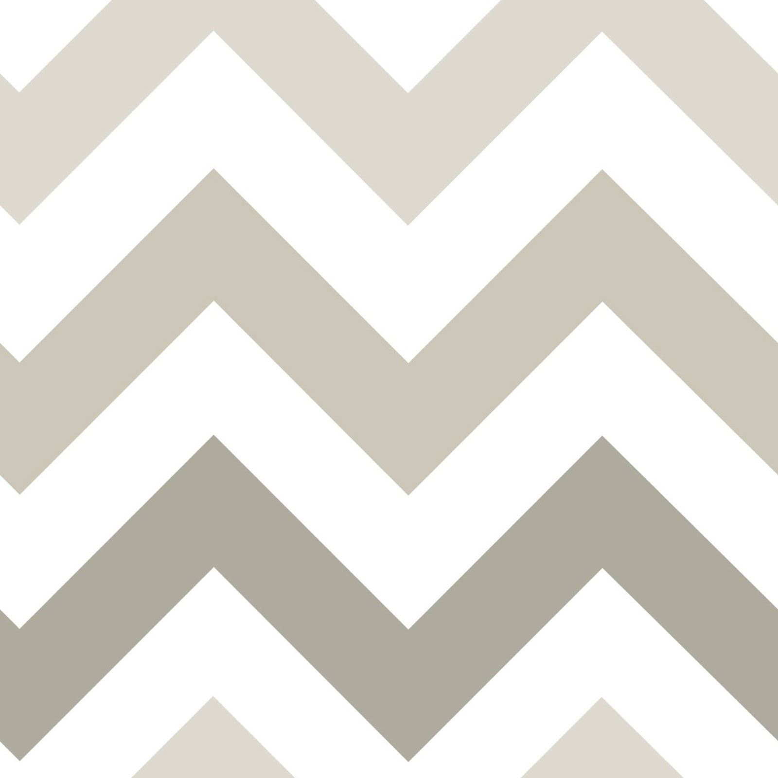 nuwallpaper zig zag abziehen und aufkleben tapete taupe nu1416 feine dekor ebay. Black Bedroom Furniture Sets. Home Design Ideas