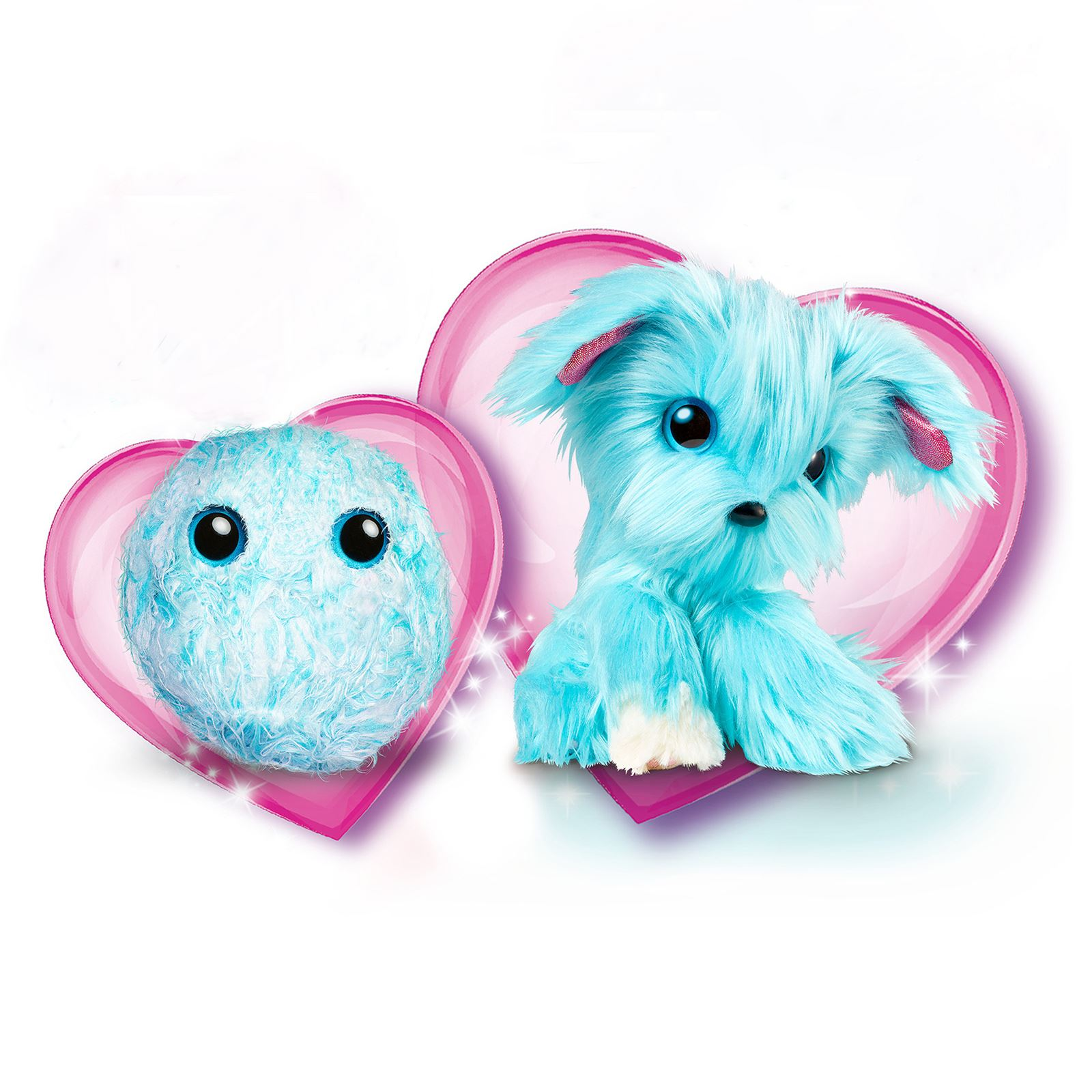 Scruff A Luvs Aqua Blue Mystery Rescue Pet Furry Animal