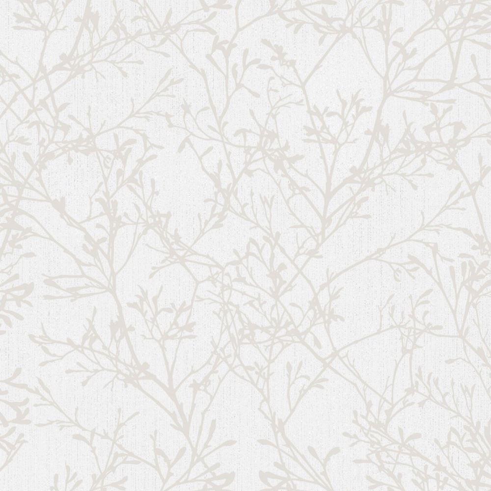 beruhigung baum tapete rollen grau silber glitzer fine decor fd41712 ebay. Black Bedroom Furniture Sets. Home Design Ideas