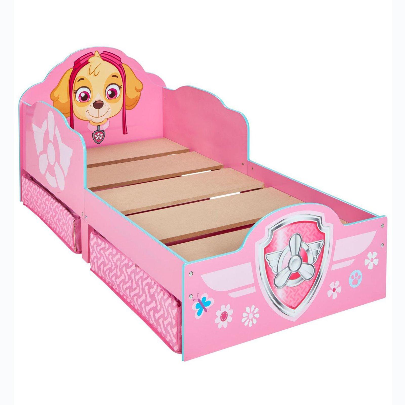 Paw Patrol Skye Kleinkind Bett mit unterbett-aufbewahrung Kinder ...