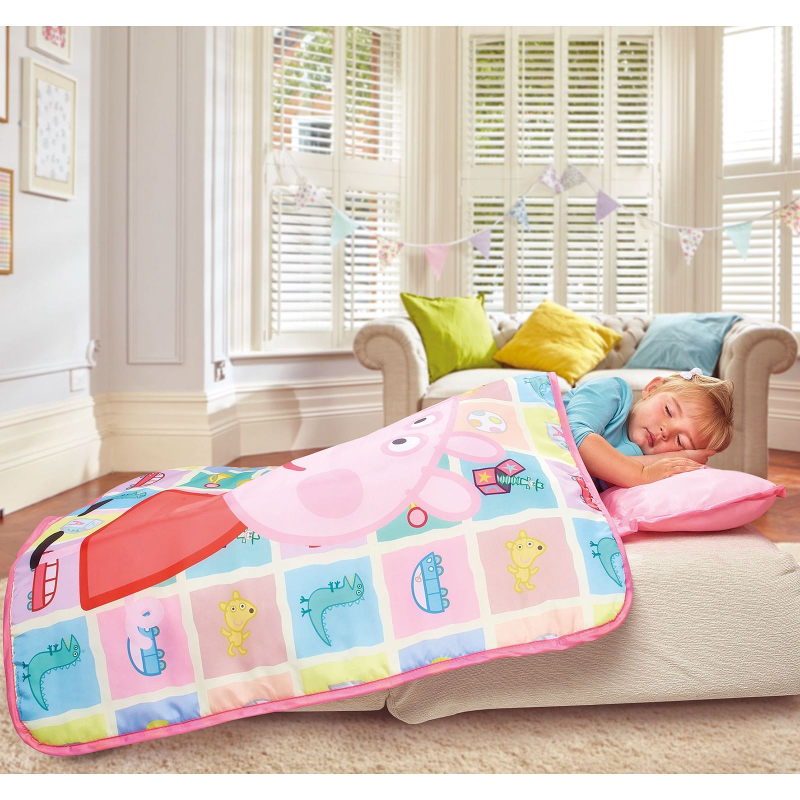 Peppa Pig Bedroom Furniture Character Cosy Wrap Nap Bed Toddler Bed Paw Patrol Peppa Pig