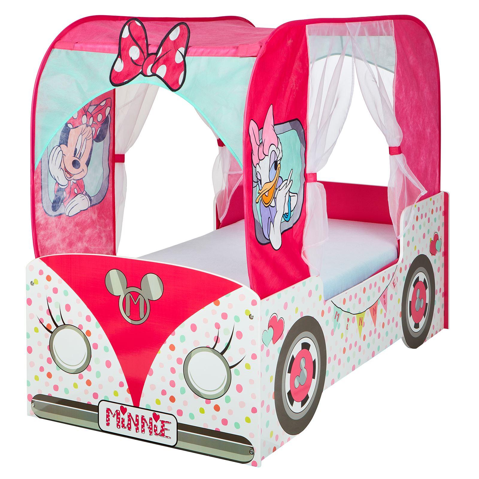 - Minnie Maus Wohnmobil Junior Kleinkind Bett Mit Baldachin