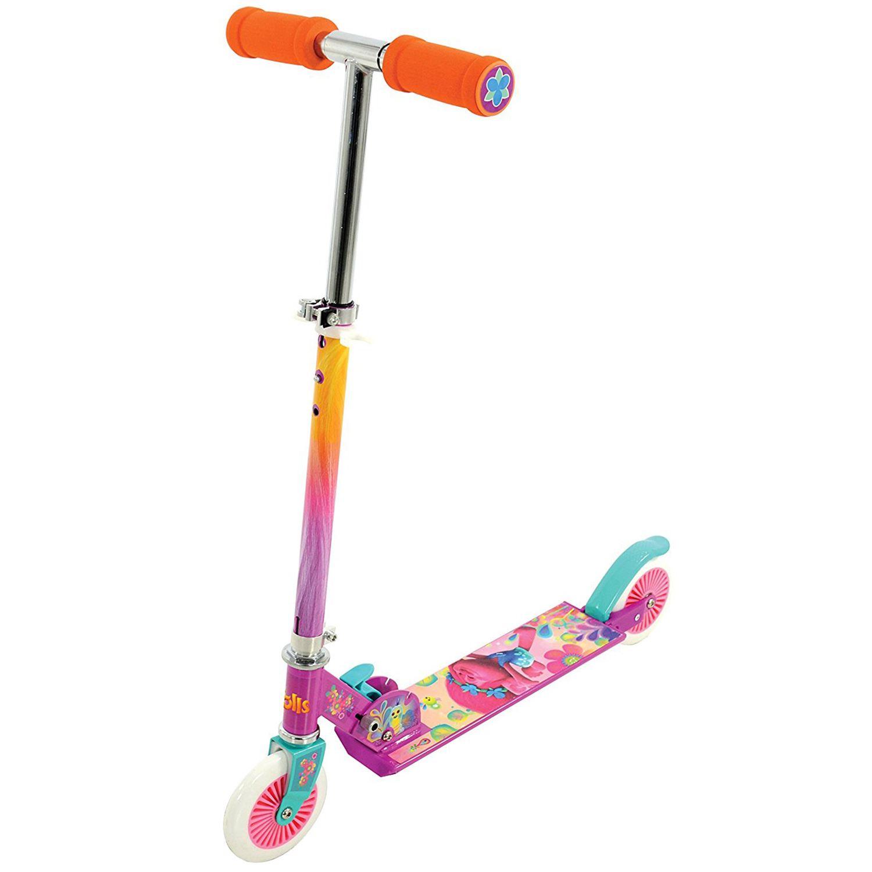 Spongebob Bedroom Trolls Folding Inline Scooter Kids Girls Pink New 163 29 90