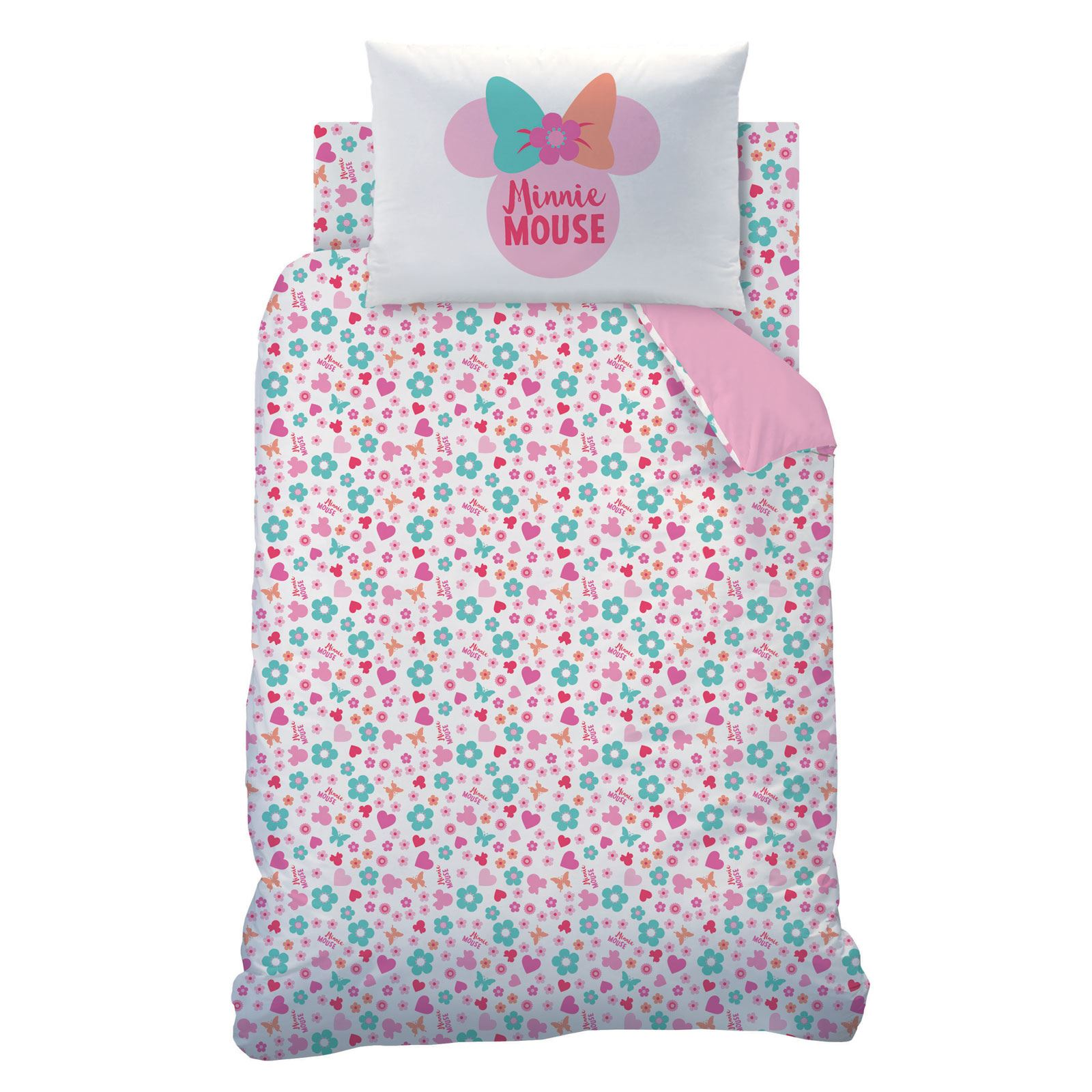 MINNIE-MOUSE-DUVET-COVERS-KIDS-GIRLS-BEDDING-SINGLE-DOUBLE-JUNIOR thumbnail 32