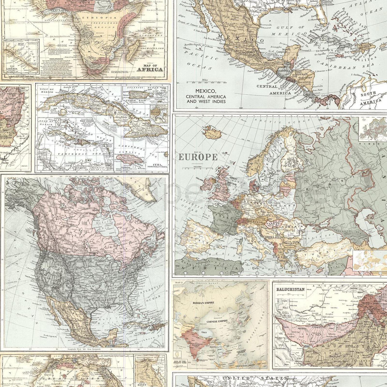 Navigator vintage map globetrotter map wallpaper arthouse holden navigator vintage mapa amp trotamundos mapa wallpaper arthouse gumiabroncs Image collections