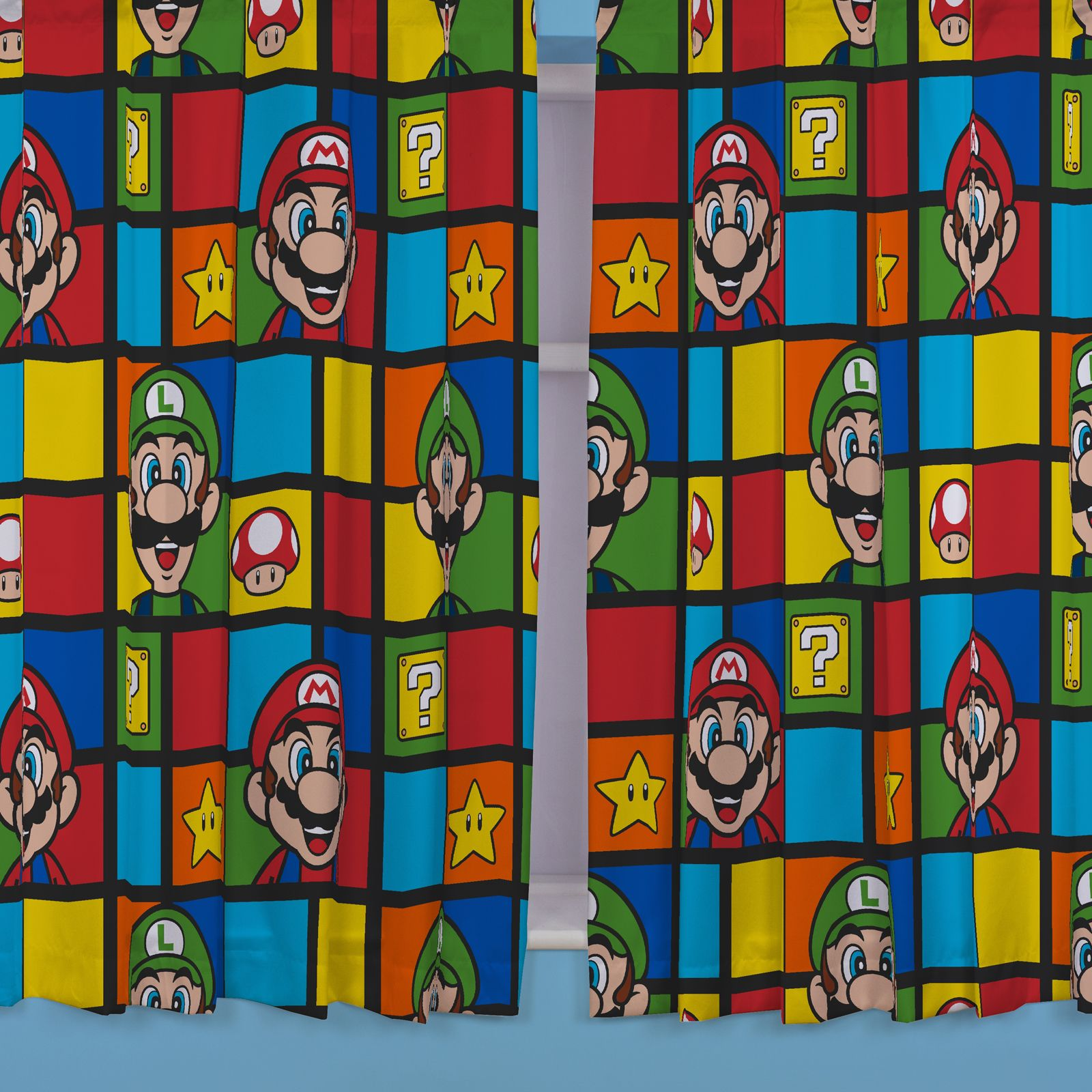 OFFICIAL NINTENDO SUPER MARIO BROTHERS BEDDING DUVET COVER. OFFICIAL NINTENDO SUPER MARIO BROTHERS BEDDING DUVET COVER SETS