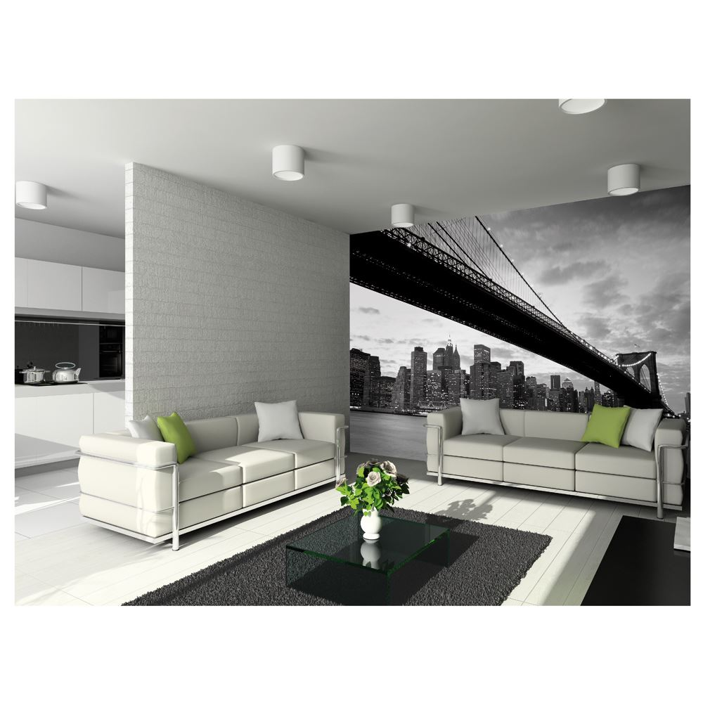 Creative collage 64 piece designer wall mural city scapes for 8 sheet giant wall mural