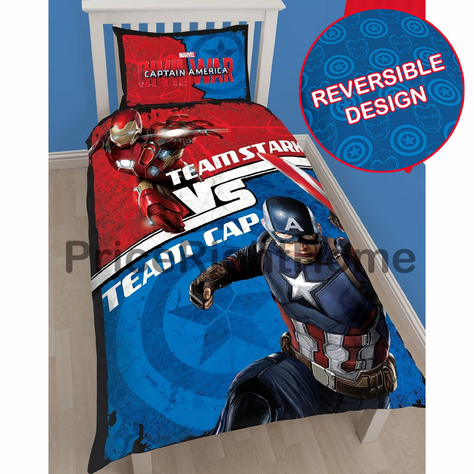 CHARACTER SINGLE DUVET COVER SETS BOYS PAW PATROL MARVEL THOMAS